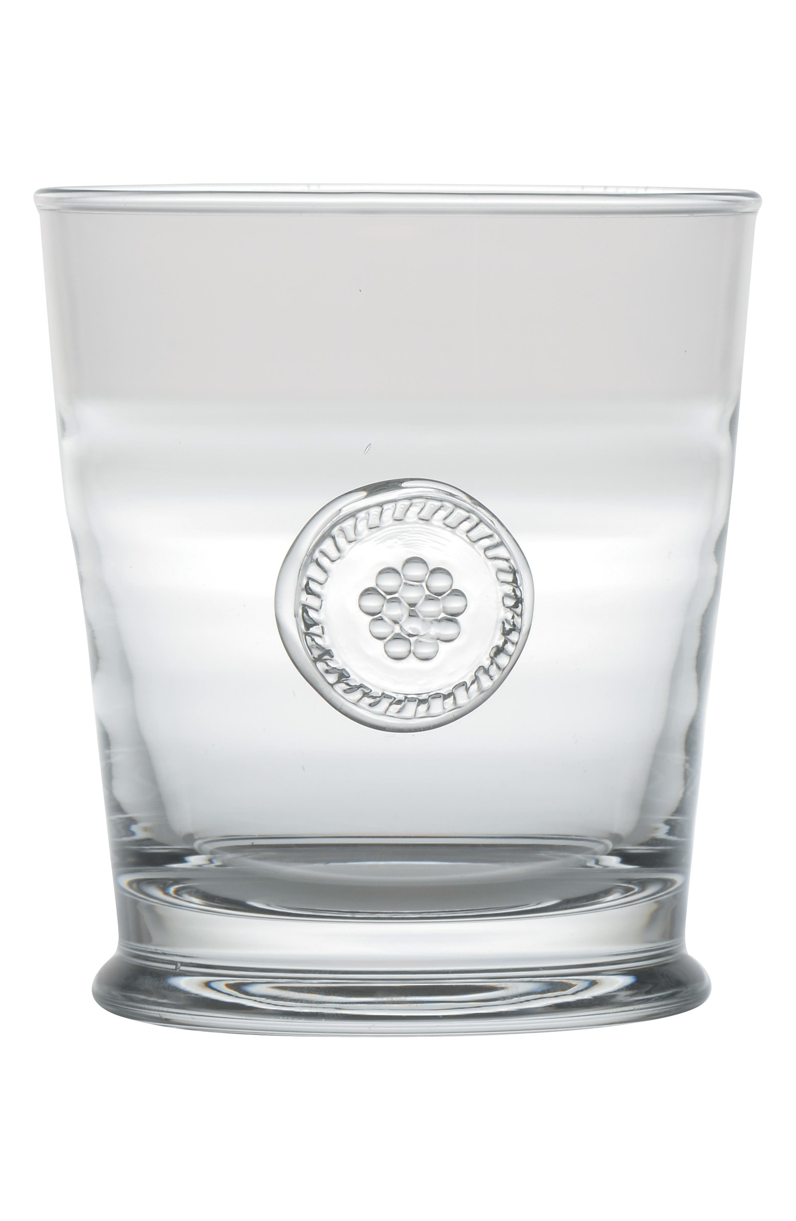 'Berry and Thread' Double Old Fashioned Glass,                             Alternate thumbnail 2, color,                             CLEAR