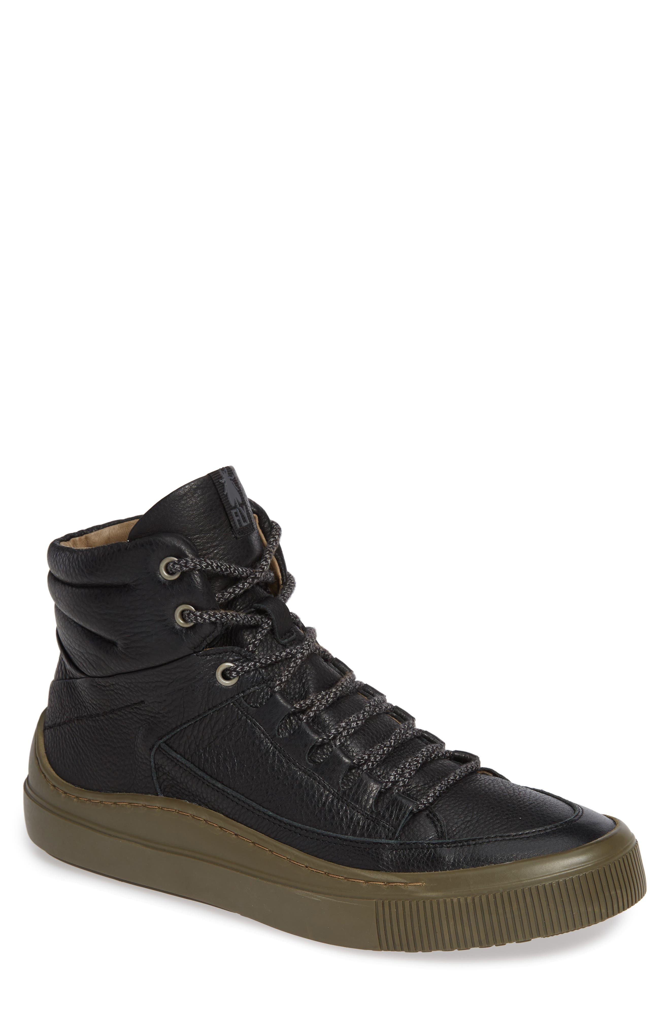 Samu Sneaker,                         Main,                         color, BLACK/ NICOTINE BRITO