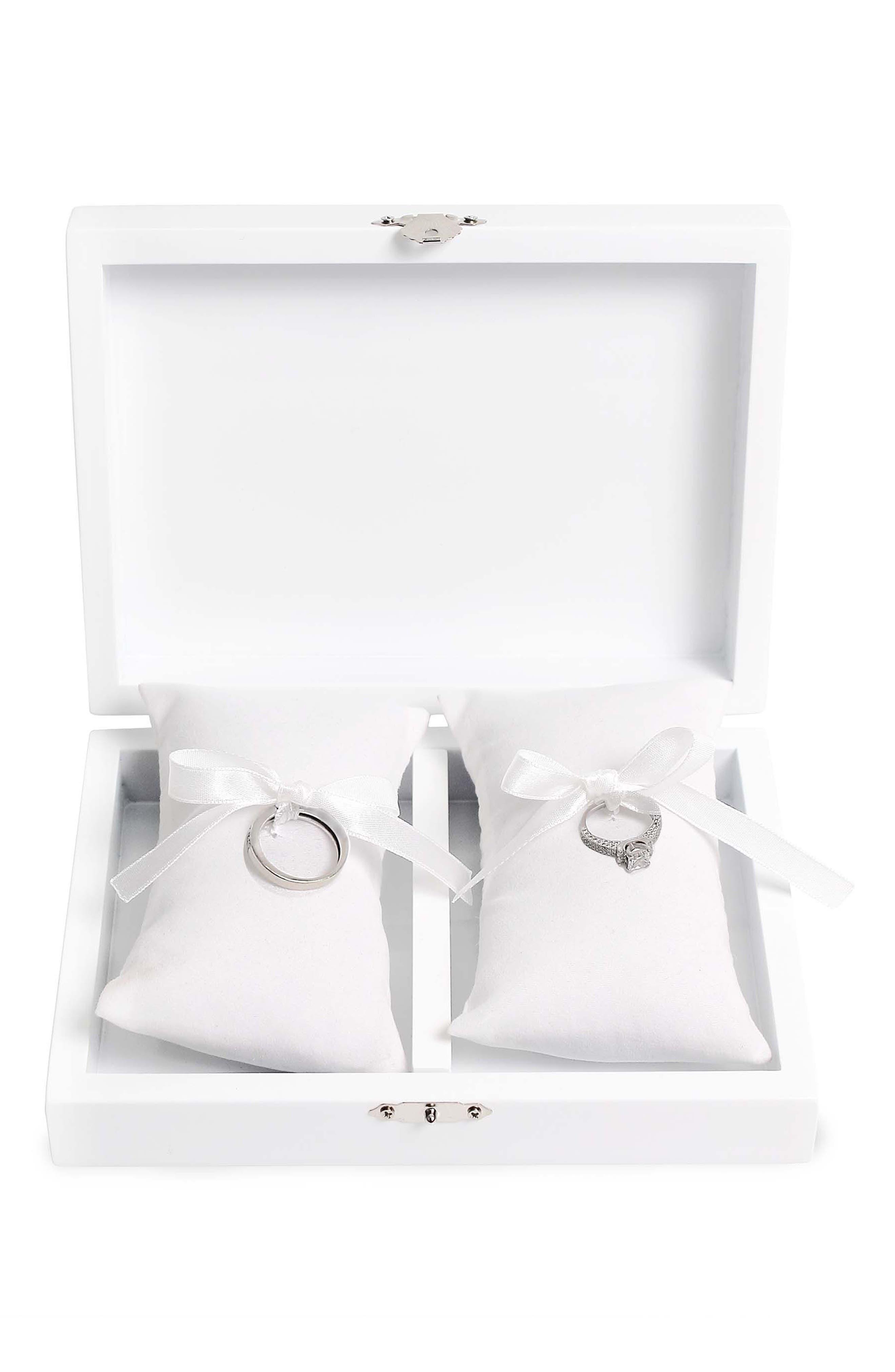 Love Wedding Ring Box,                             Alternate thumbnail 7, color,                             100