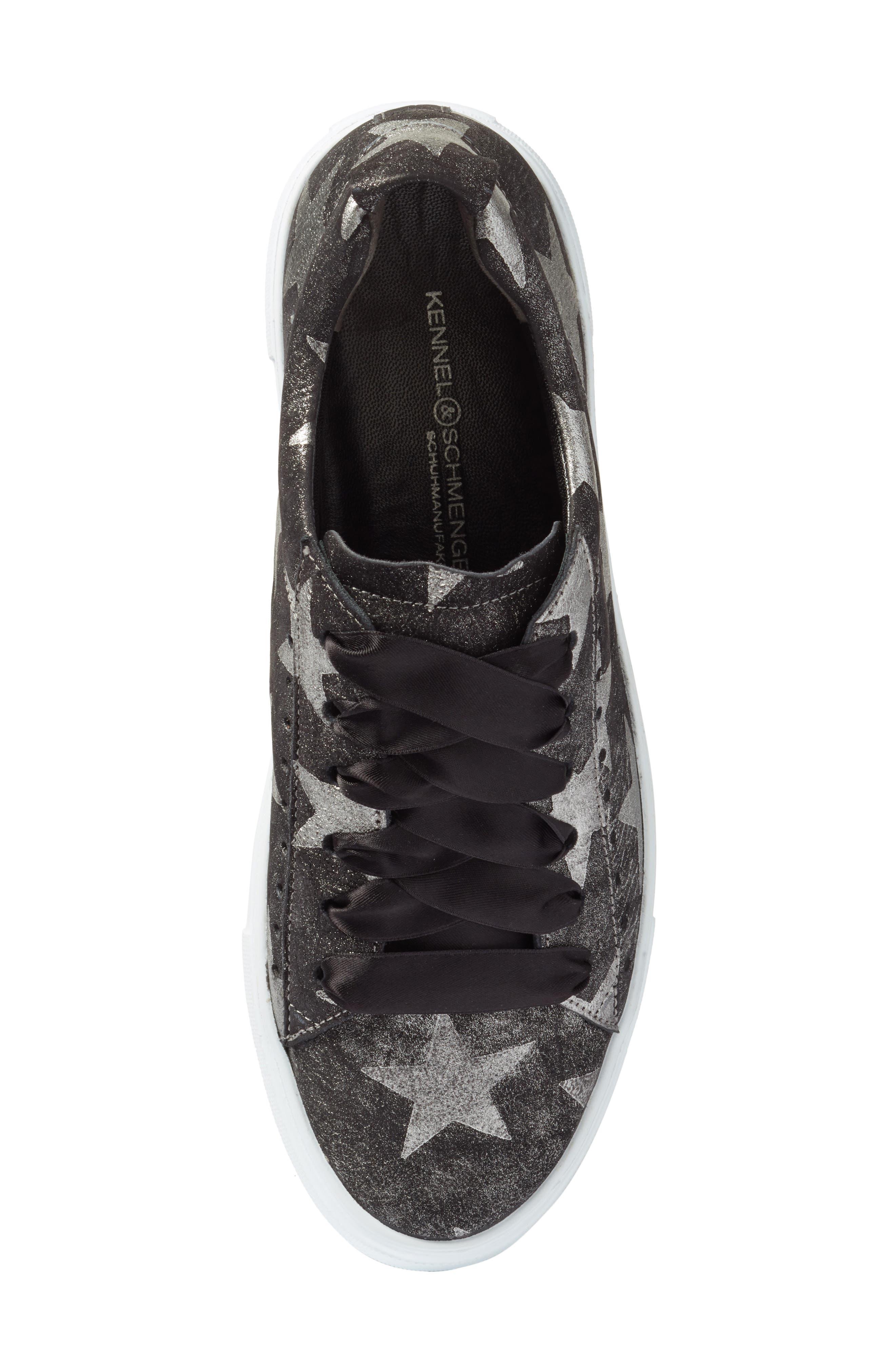 Kennel & Schmenger Big Star Sneaker,                             Alternate thumbnail 5, color,                             001