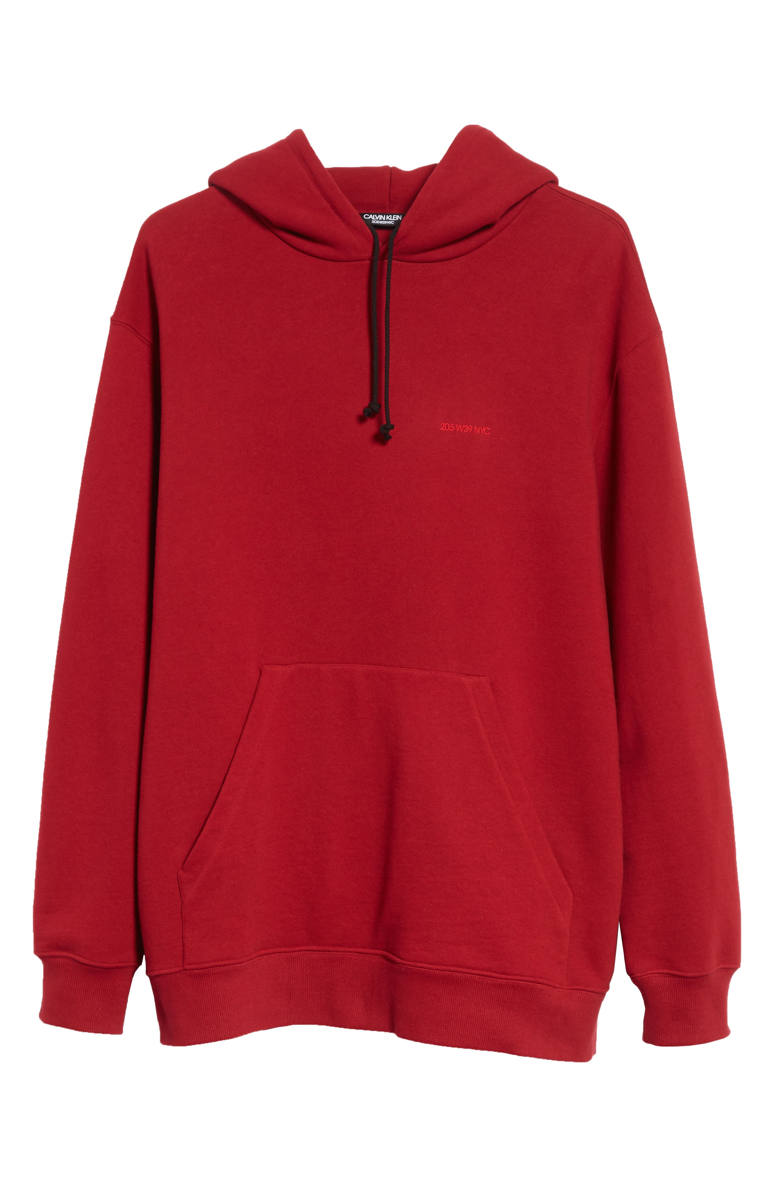 CALVIN KLEIN 205W39NYC,                             Oversize Hoodie,                             Alternate thumbnail 6, color,                             602