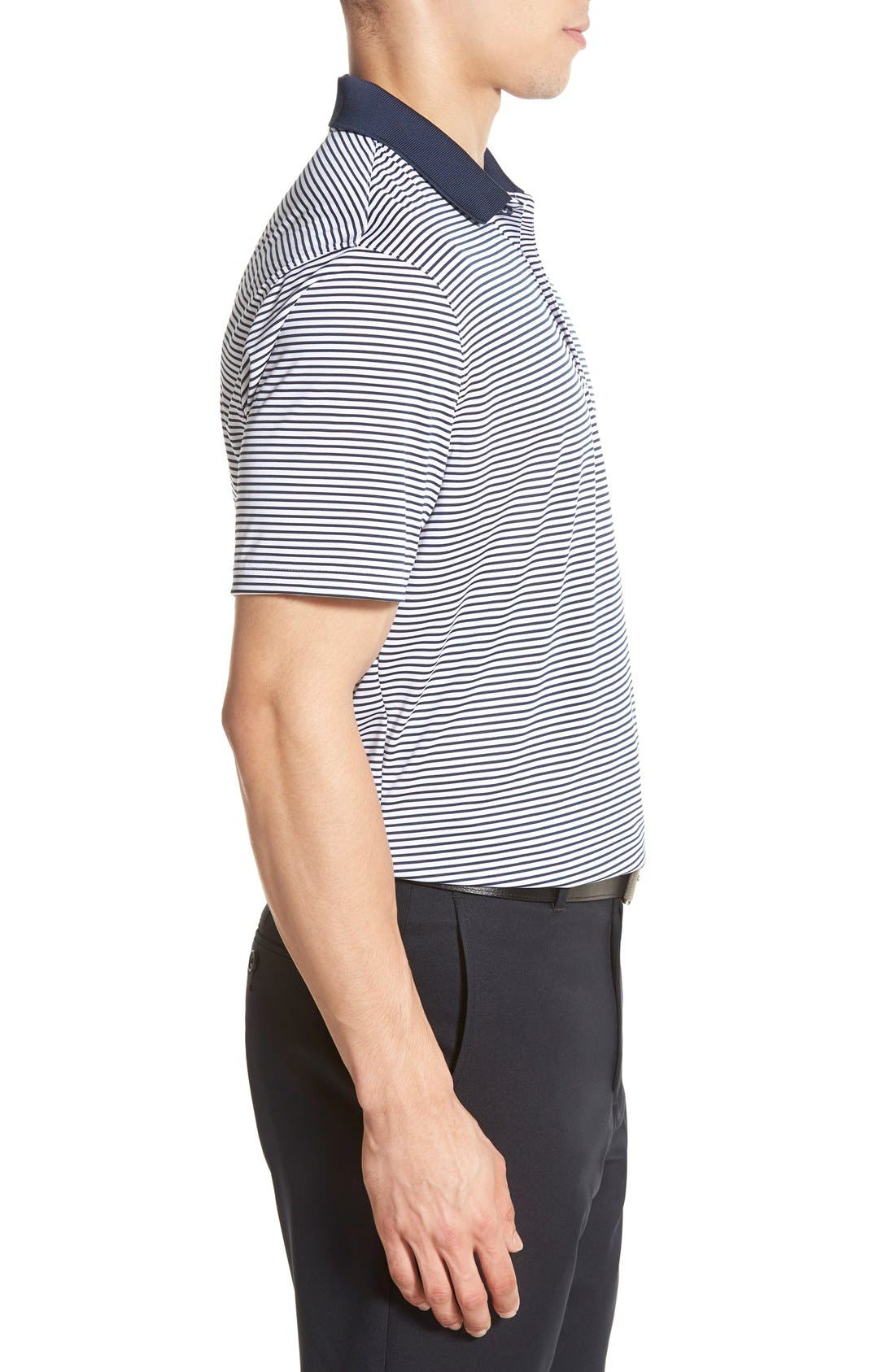 'Victory Stripe' Dri-FIT Golf Polo,                             Alternate thumbnail 38, color,