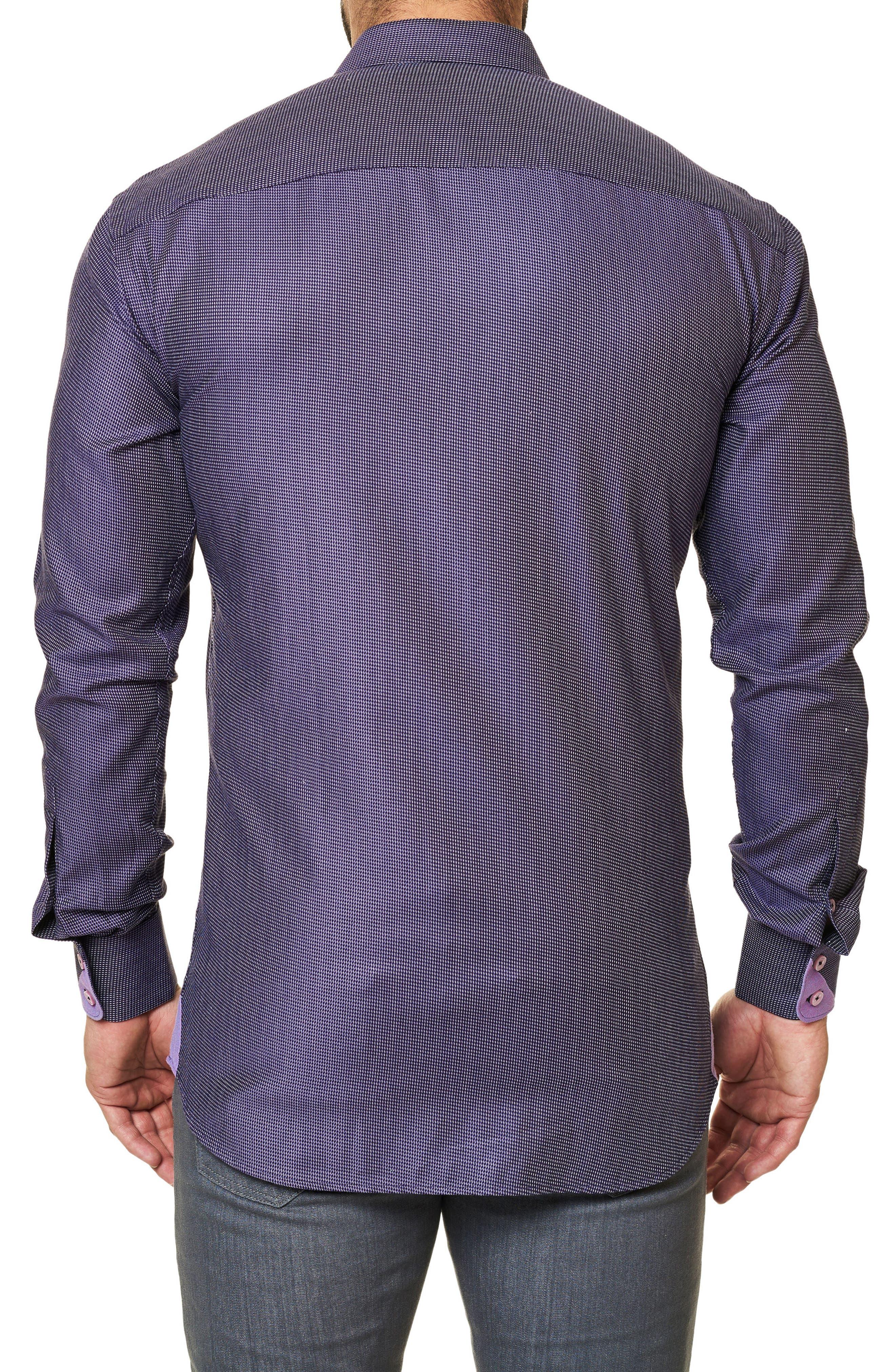 Trim Fit Print Sport Shirt,                             Alternate thumbnail 2, color,                             509