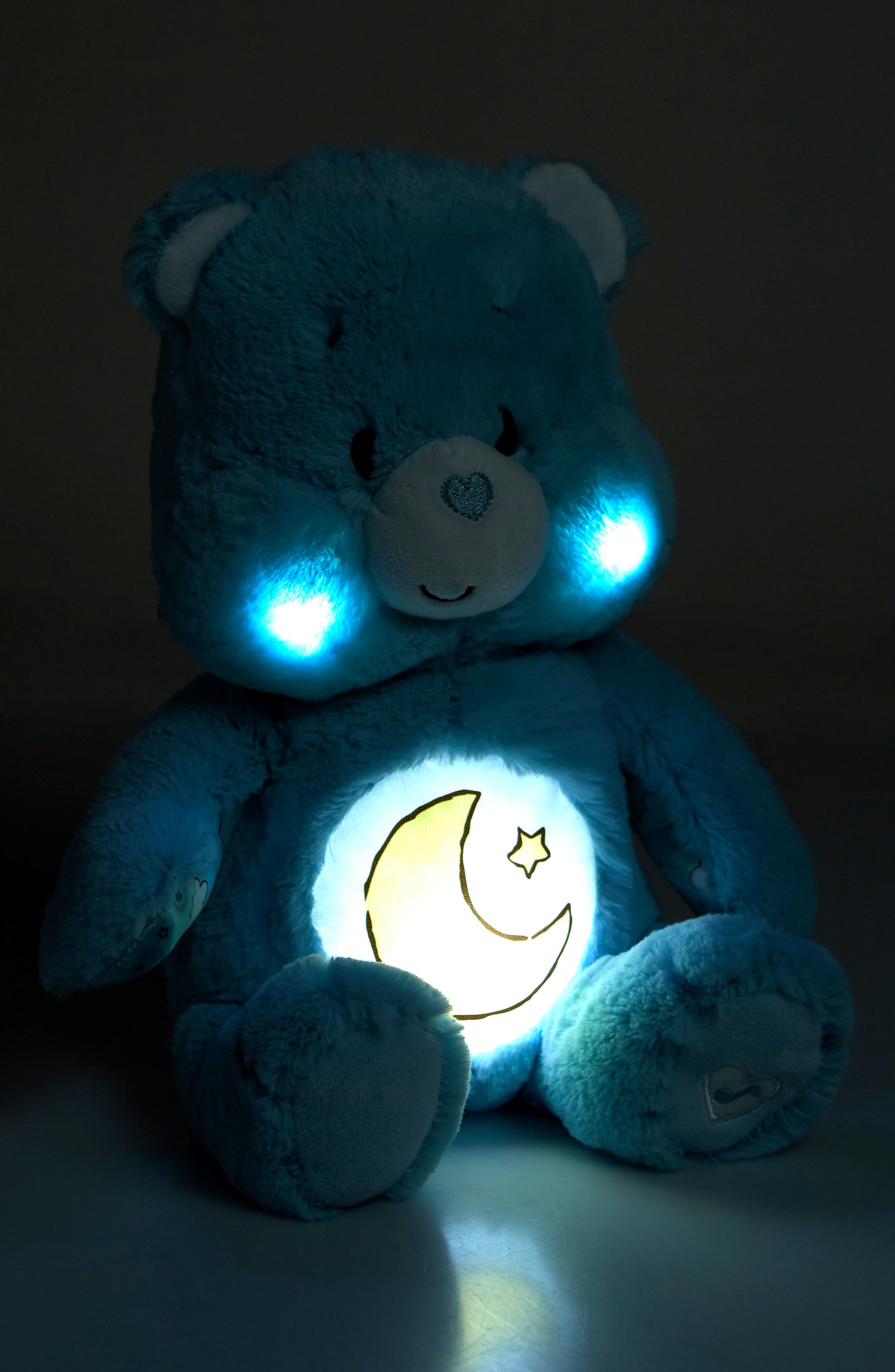 KIDS PREFERRED,                             Care Bears Soother Bear Light-Up Plush Toy,                             Alternate thumbnail 3, color,                             400