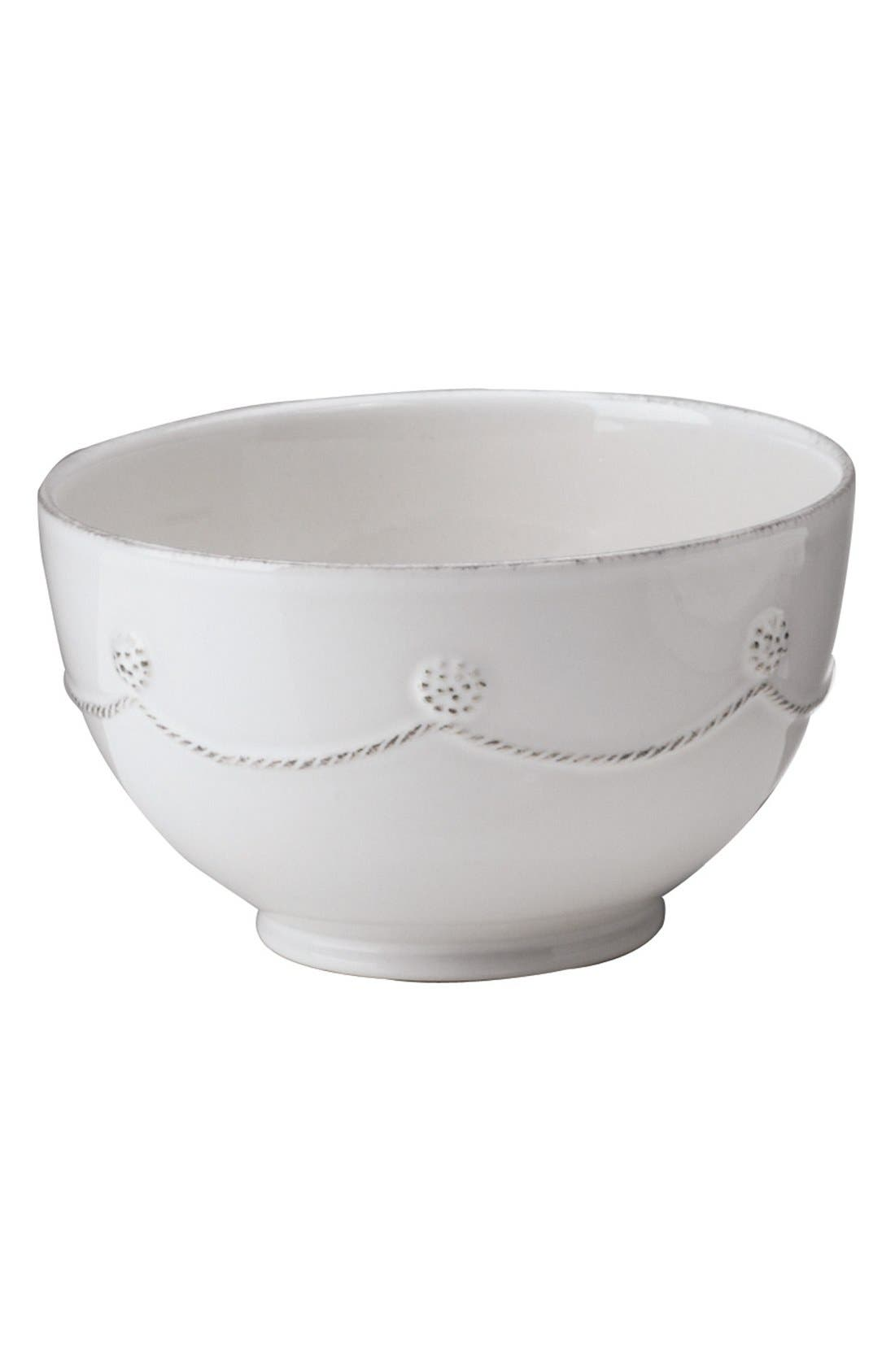 'Berry and Thread' Cereal Bowl,                             Main thumbnail 1, color,                             WHITEWASH