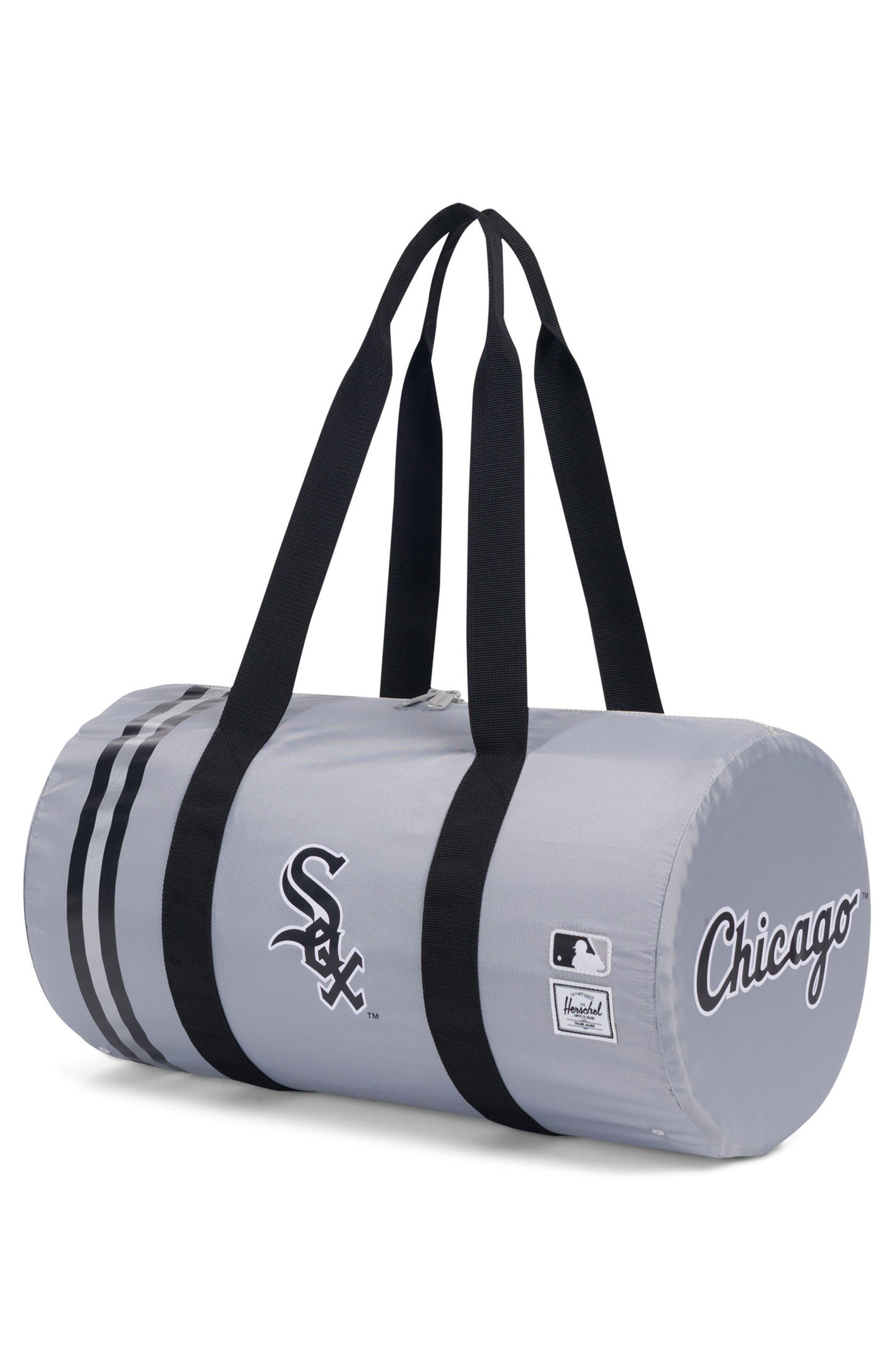 HERSCHEL SUPPLY CO.,                             Packable - MLB American League Duffel Bag,                             Alternate thumbnail 2, color,                             CHICAGO WHITE SOX
