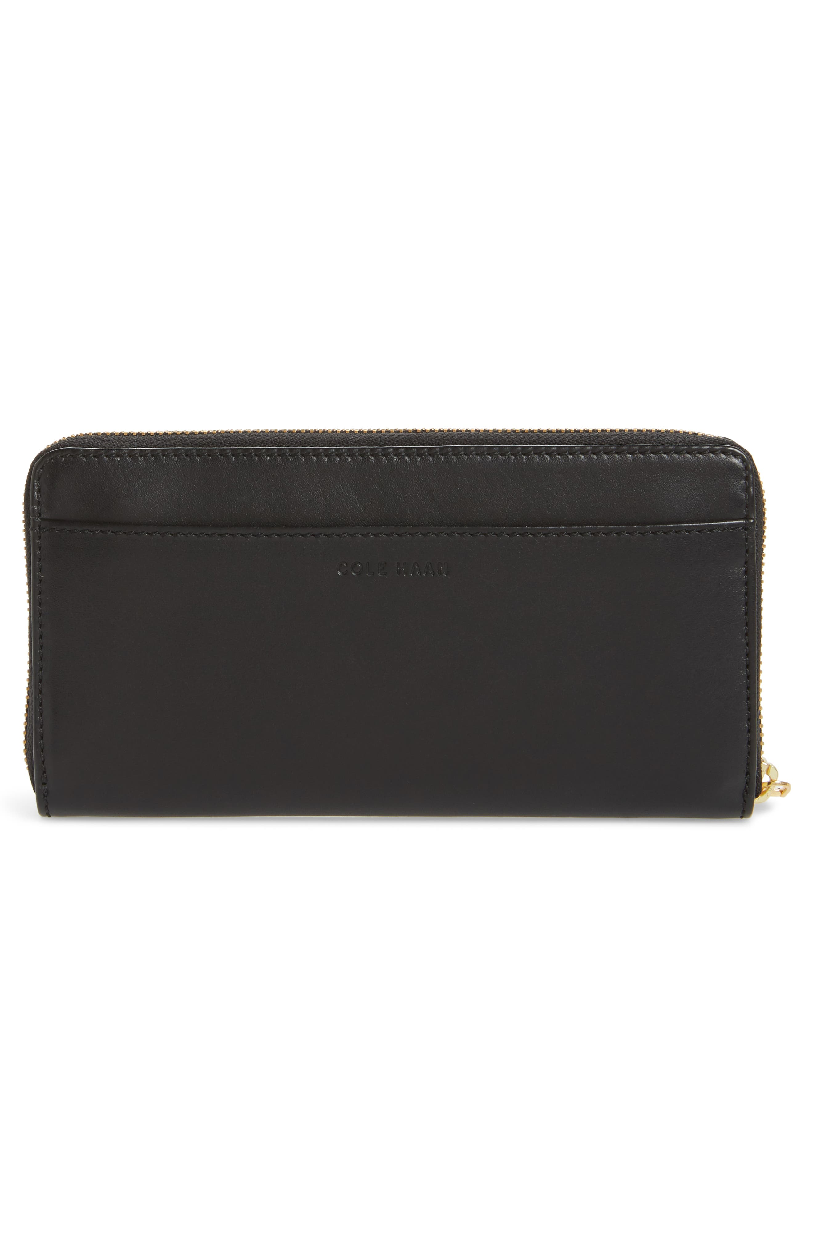 Zoe Continental Zip Wallet,                             Alternate thumbnail 3, color,                             001