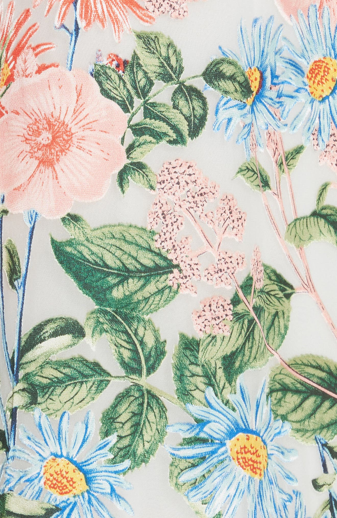 Alves Floral Cold Shoulder Maxi Dress,                             Alternate thumbnail 5, color,                             650