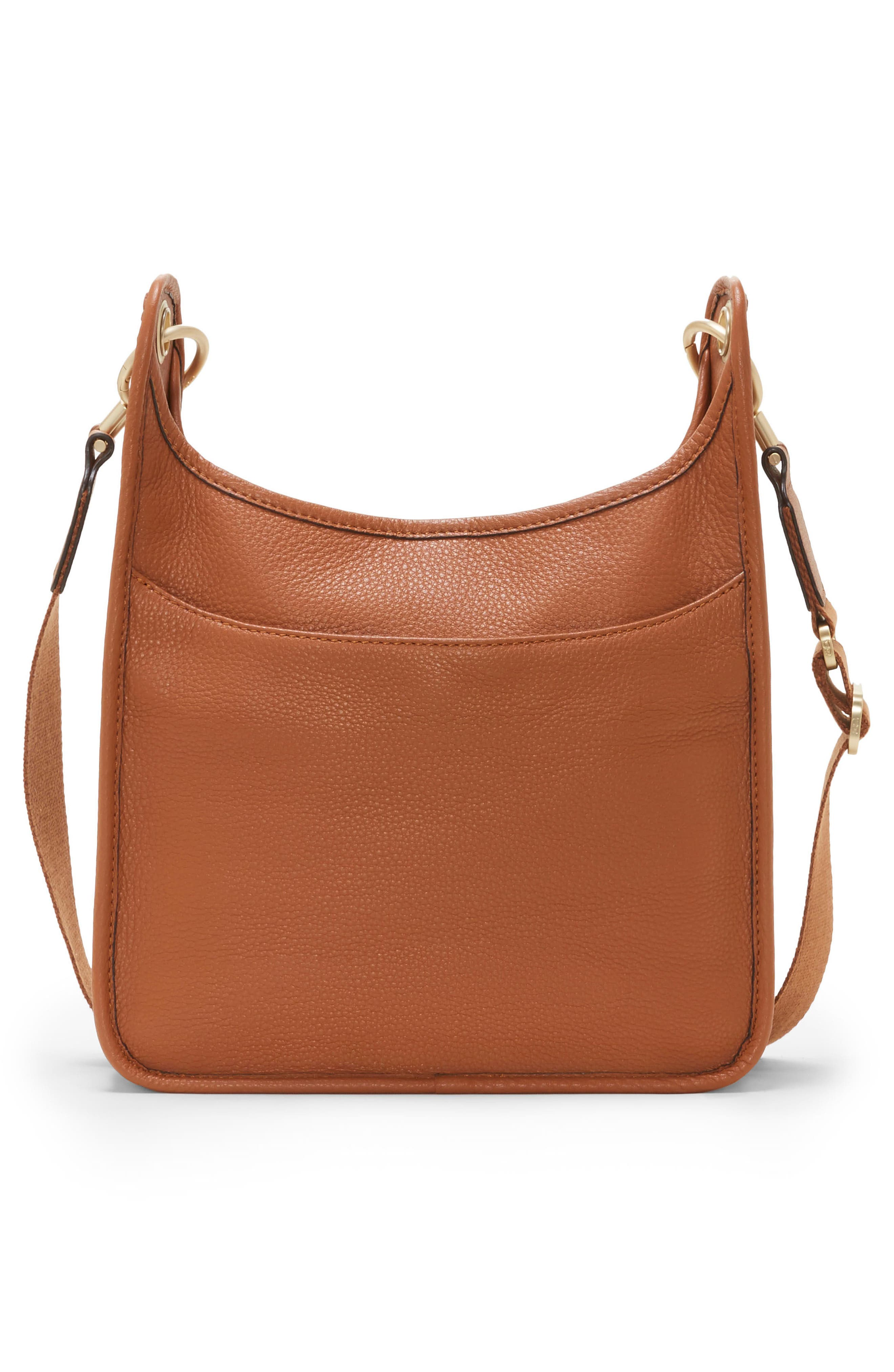 Leather Crossbody Bag,                             Alternate thumbnail 2, color,                             201