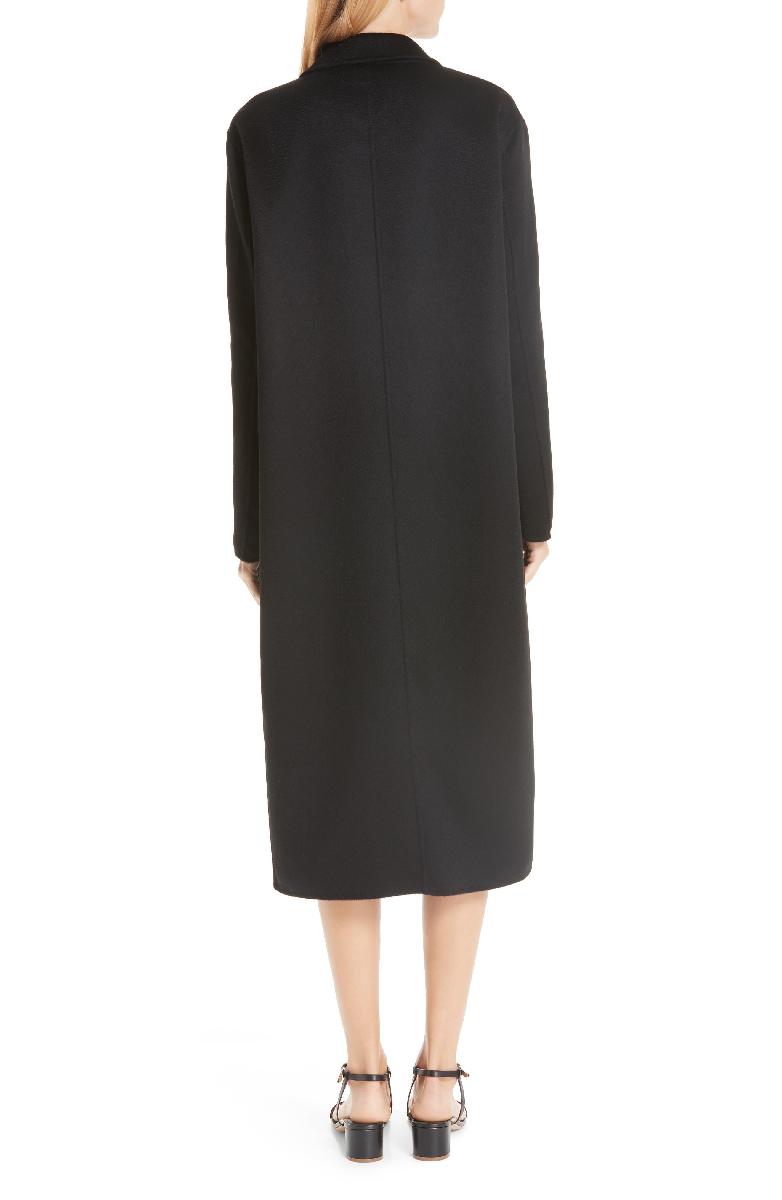 MANSUR GAVRIEL,                             Longline Cashmere Coat,                             Alternate thumbnail 2, color,                             001