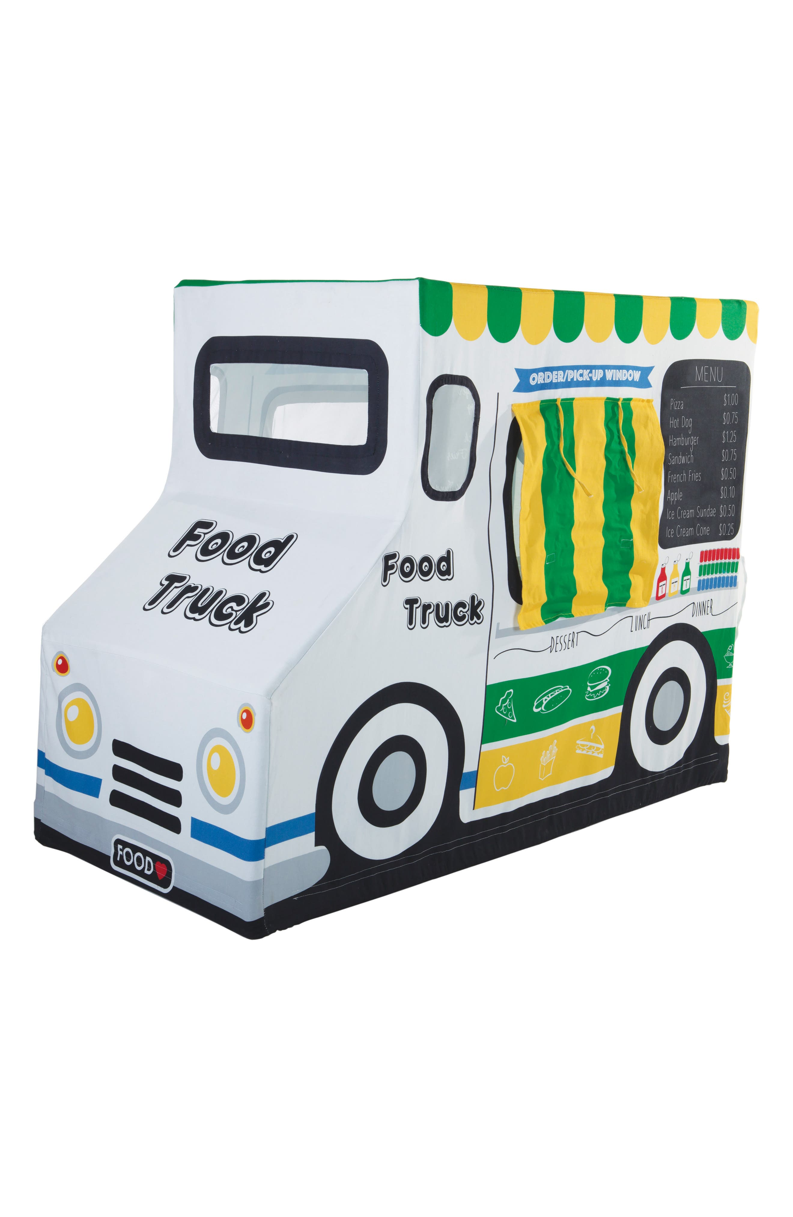Food Truck Tent, Main, color, WHITE