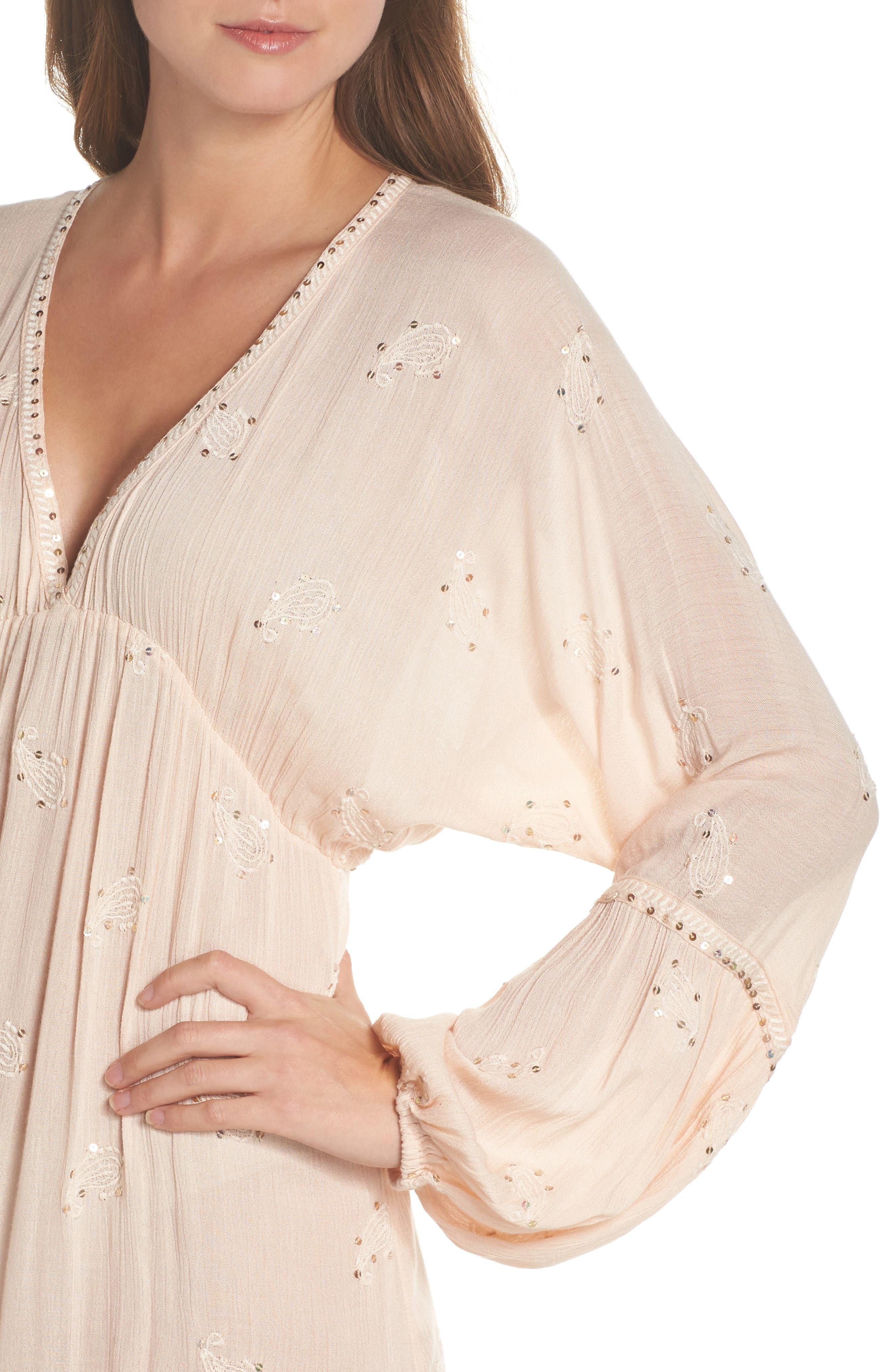Mercer Cover-Up Maxi Dress,                             Alternate thumbnail 4, color,                             650