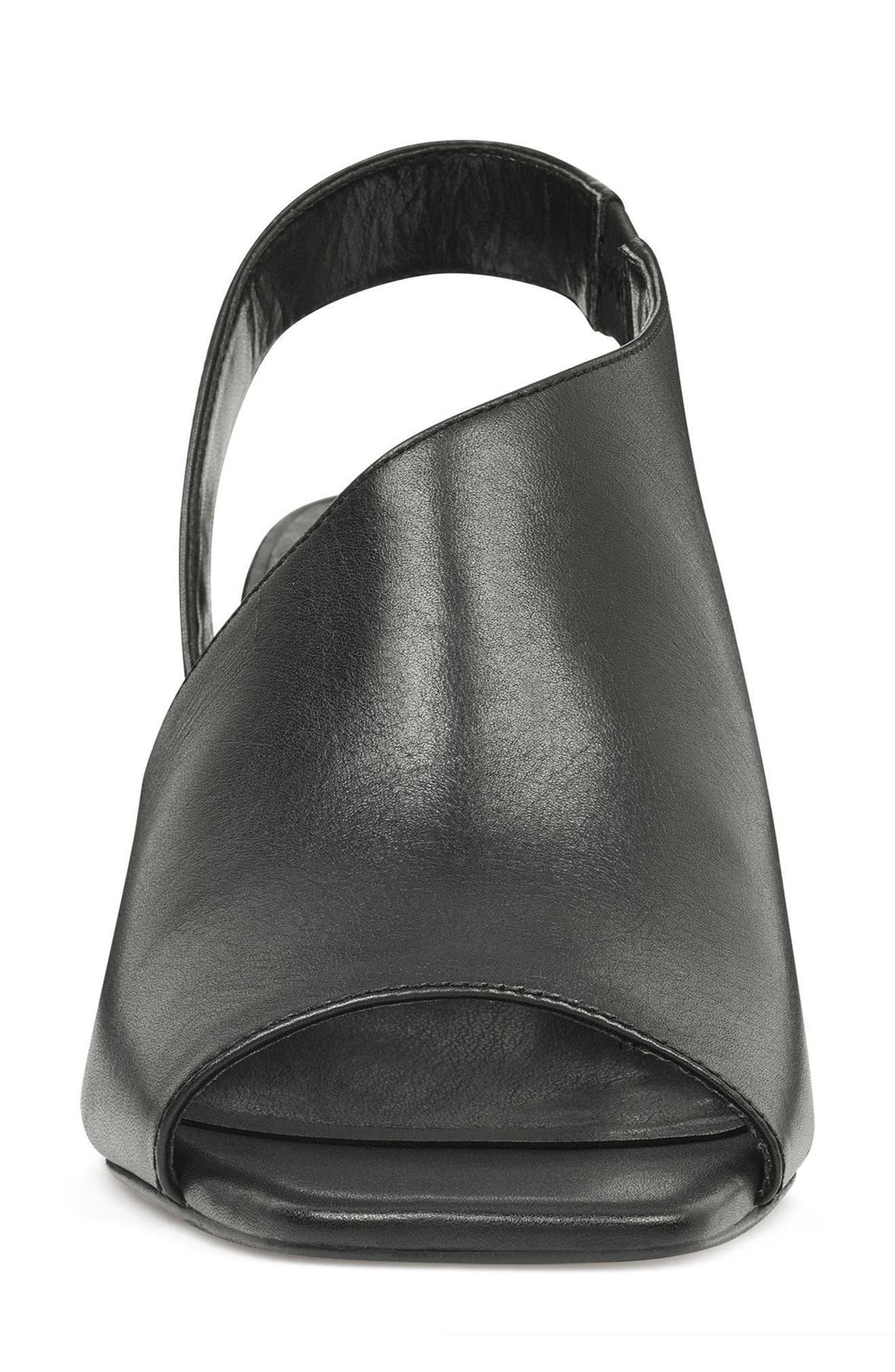 Orrus Asymmetrical Sandal,                             Alternate thumbnail 4, color,                             001