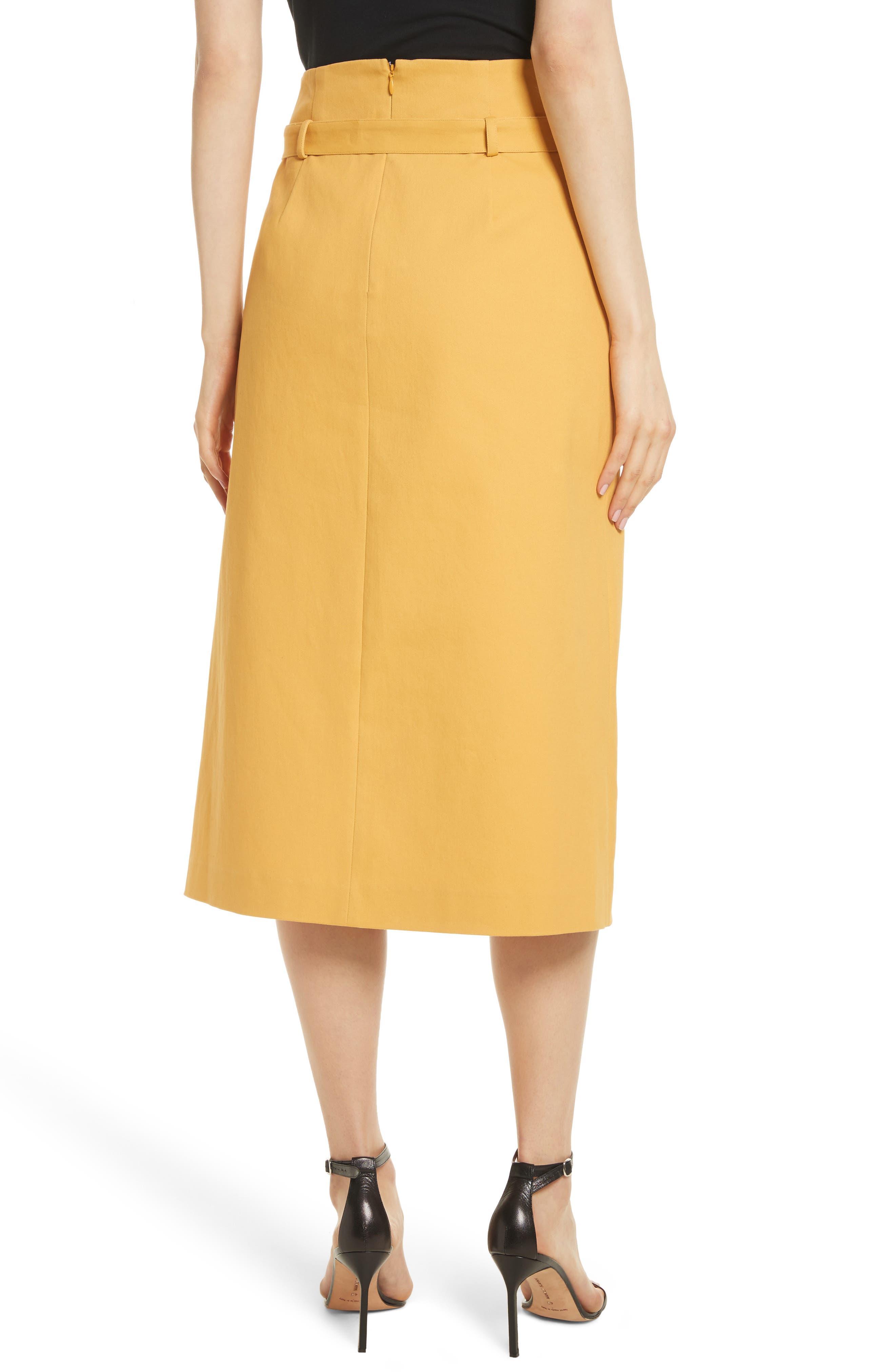 Belted Midi Skirt,                             Alternate thumbnail 2, color,