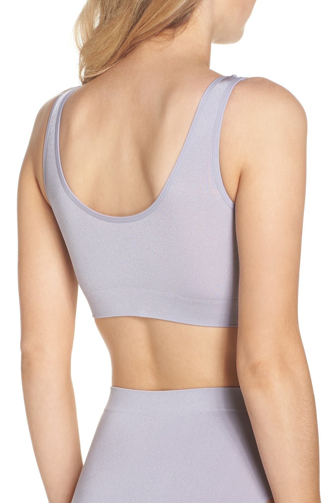 WACOAL,                             B Smooth Seamless Bralette,                             Alternate thumbnail 2, color,                             038