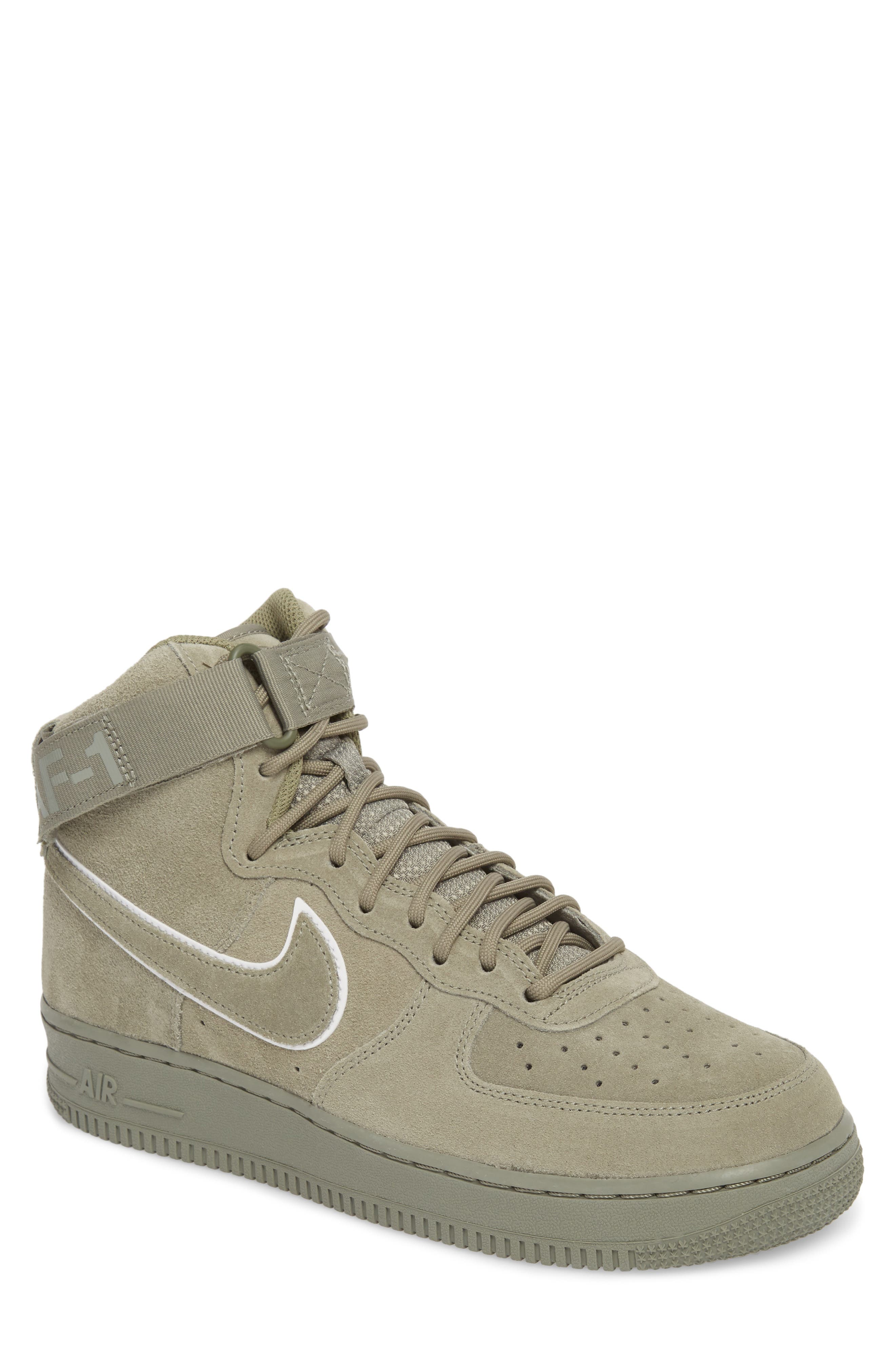 Air Force 1 High '07 LV8 Suede Sneaker,                             Main thumbnail 2, color,