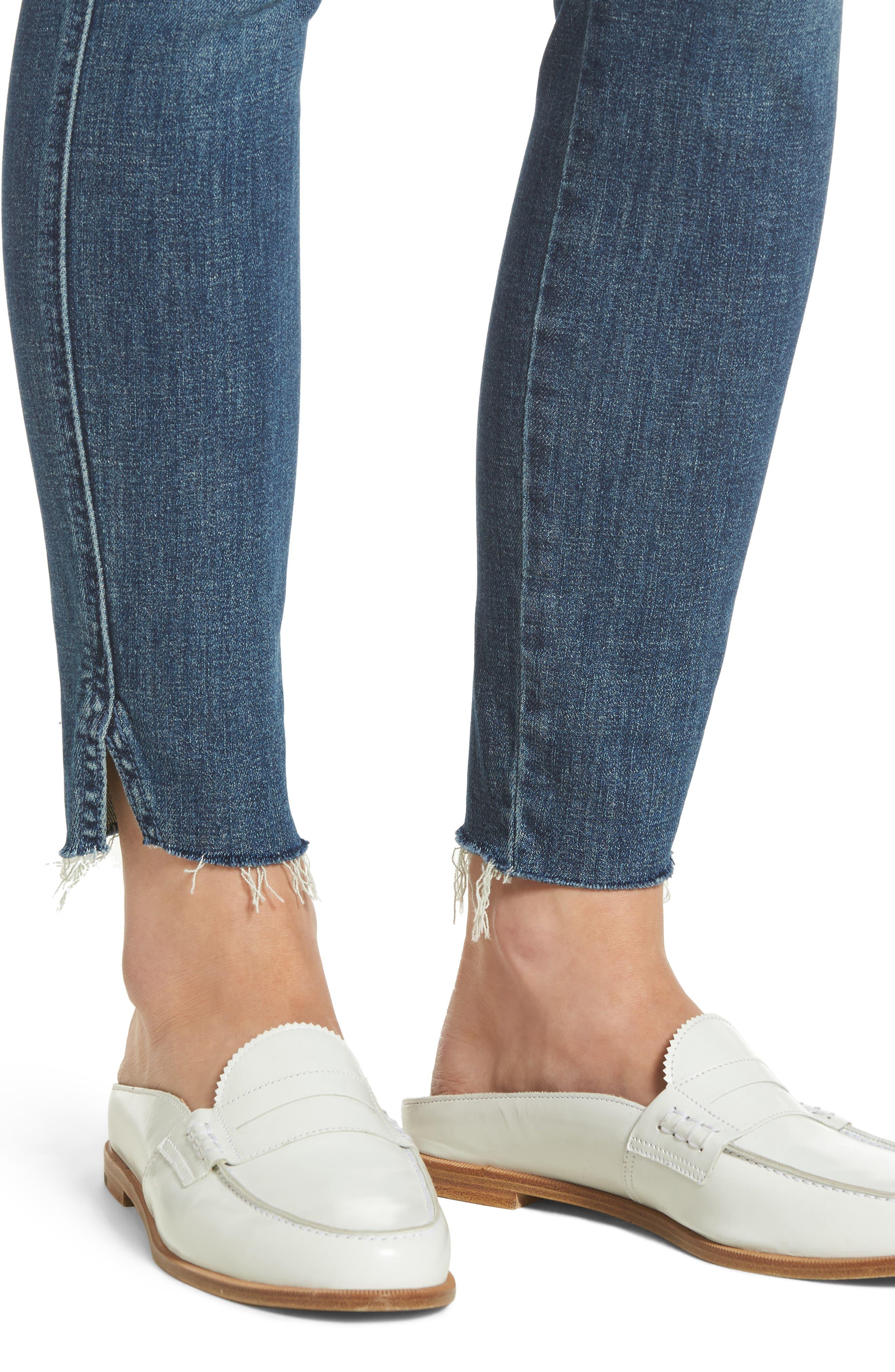 The Vamp Crop Skinny Jeans,                             Alternate thumbnail 4, color,                             419