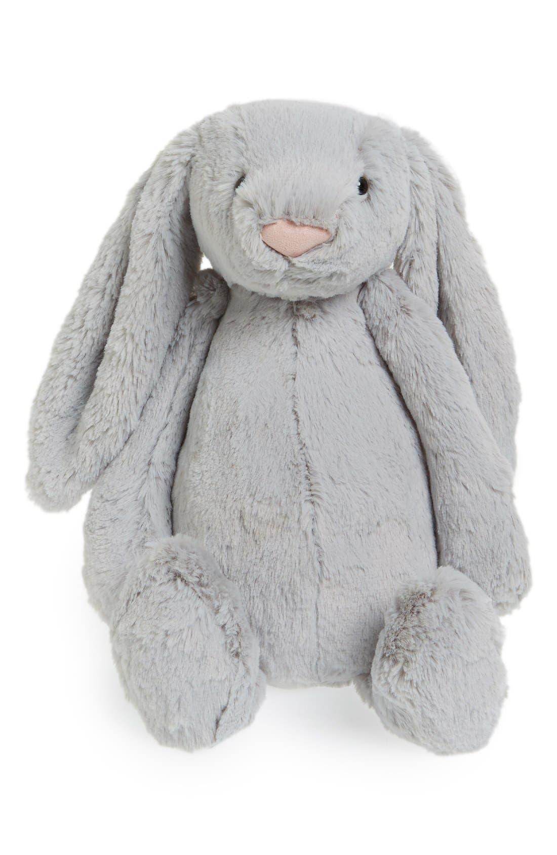 'Large Bashful Bunny' Stuffed Animal,                             Main thumbnail 1, color,                             021