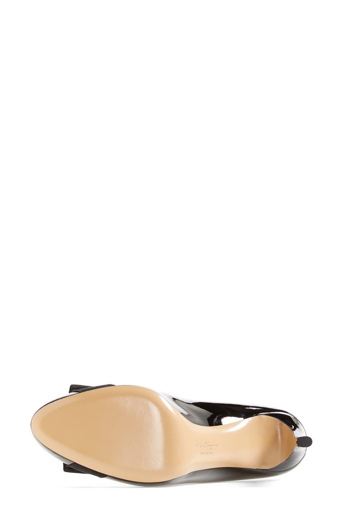 Pimpa Rounded Toe Bow Pump,                             Alternate thumbnail 6, color,