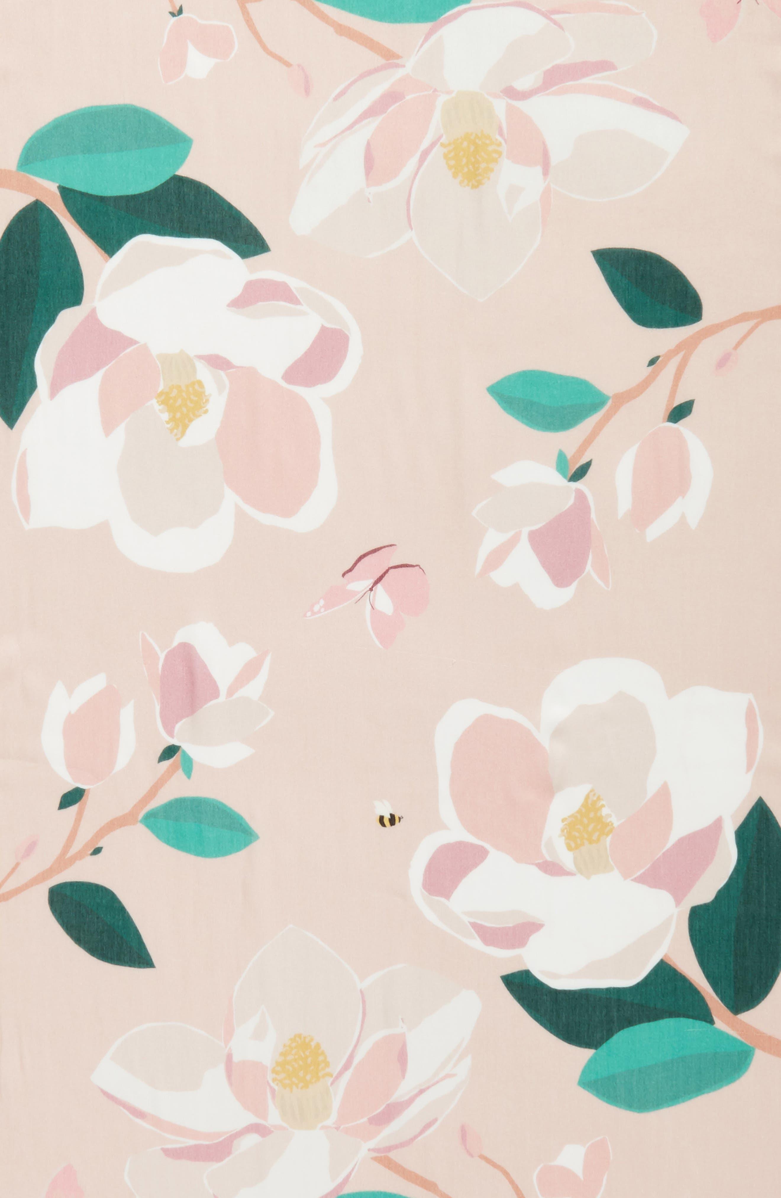 magnolia scarf,                             Alternate thumbnail 4, color,                             698