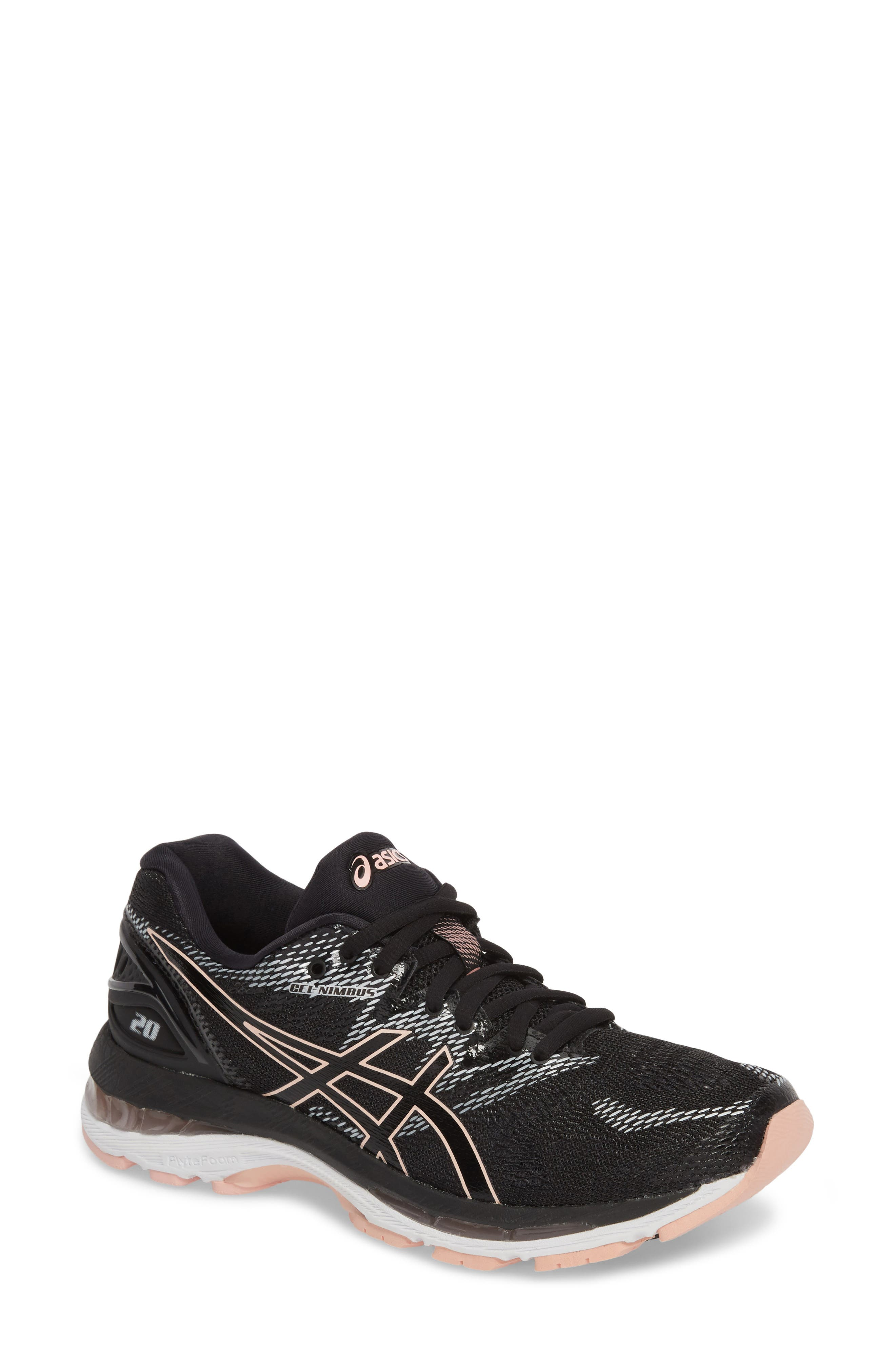 Asics Gel-Nimbus 20 Running Shoe, Black