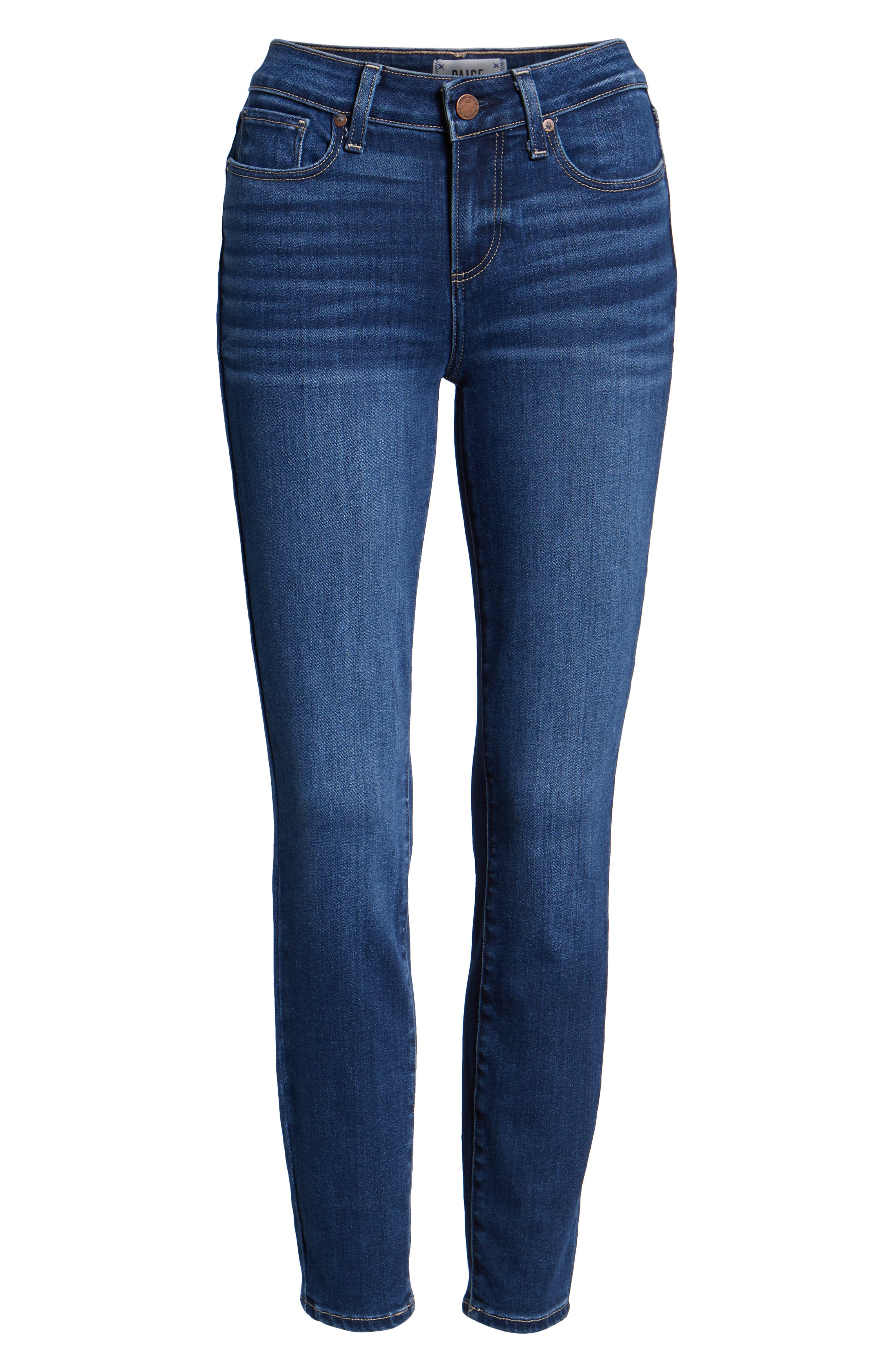 Verdugo Ankle Skinny Jeans,                             Alternate thumbnail 7, color,                             TOWNSEND