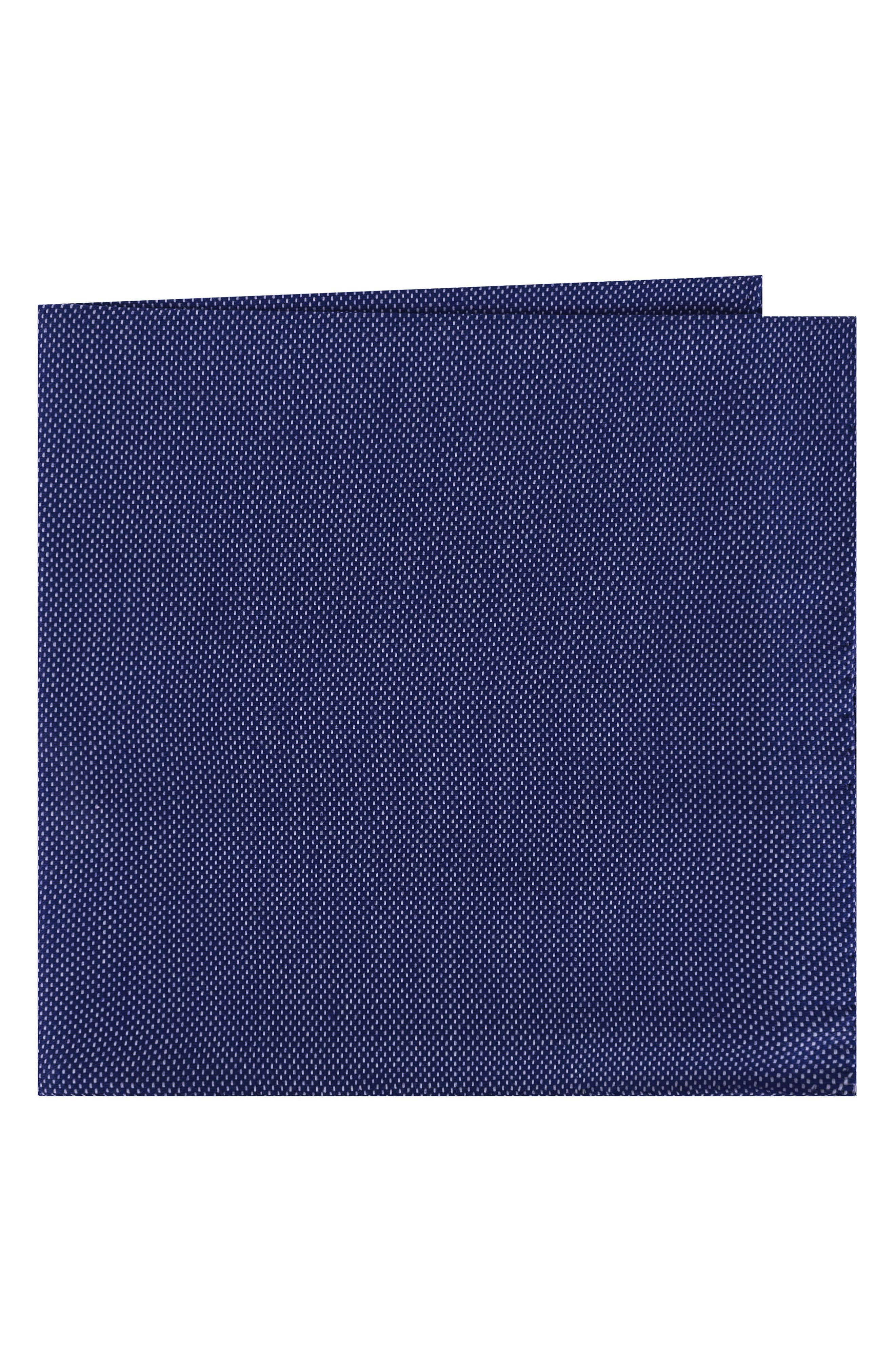 Solid Cotton Pocket Square,                             Main thumbnail 2, color,