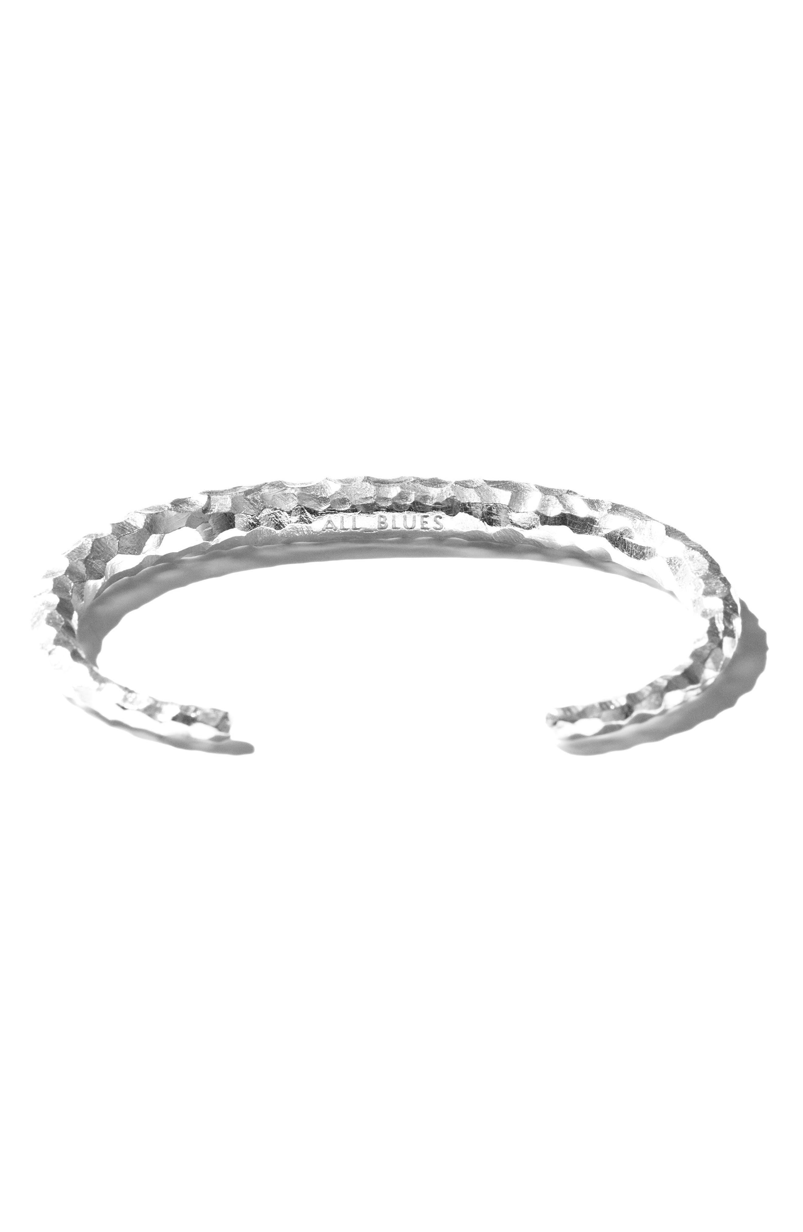 Large Snake Carved Silver Bracelet,                             Alternate thumbnail 4, color,                             CARVED SILVER