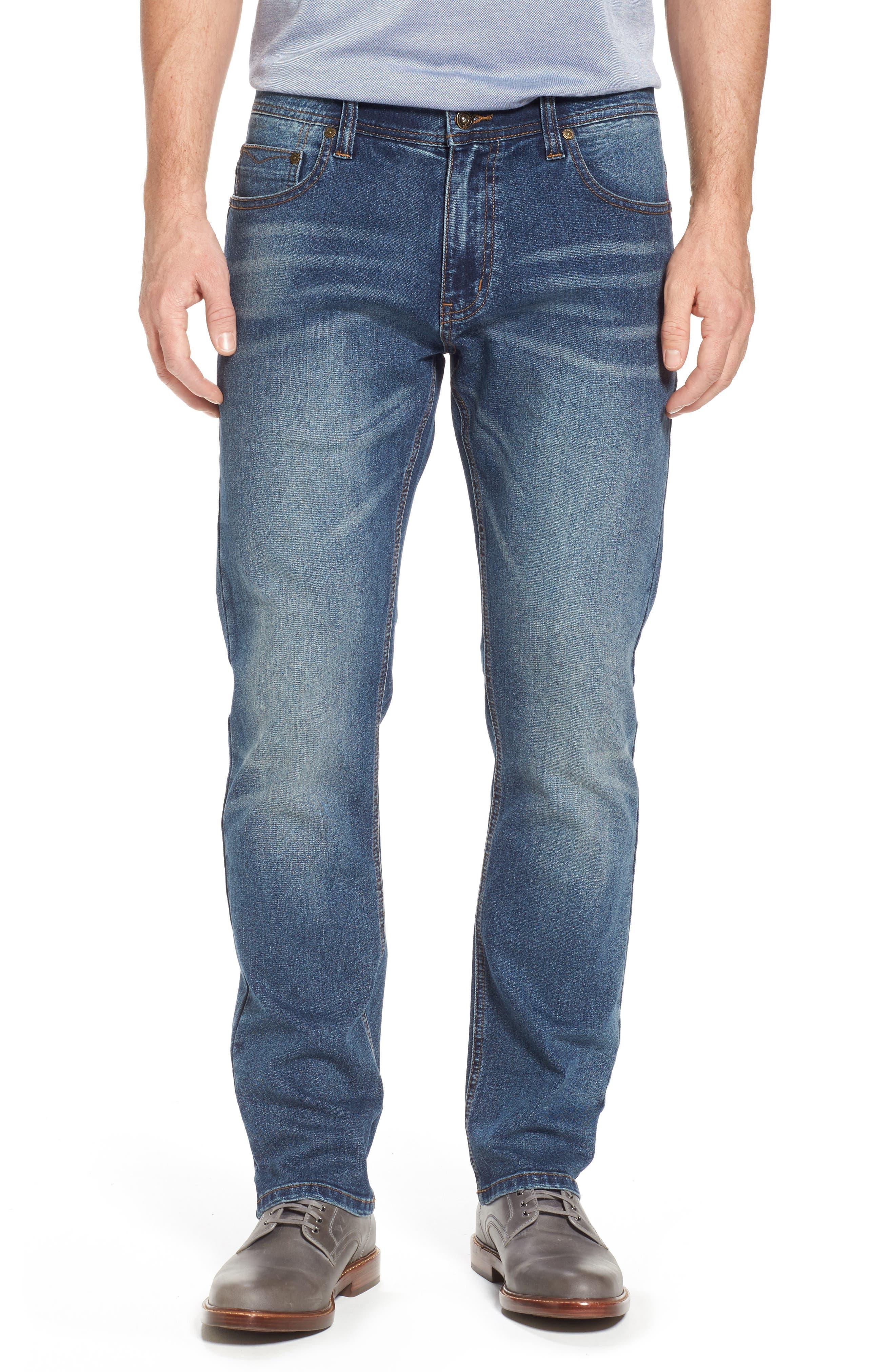 Maverick Stretch Slim Fit Jeans,                             Main thumbnail 1, color,                             MAVERICK WASH