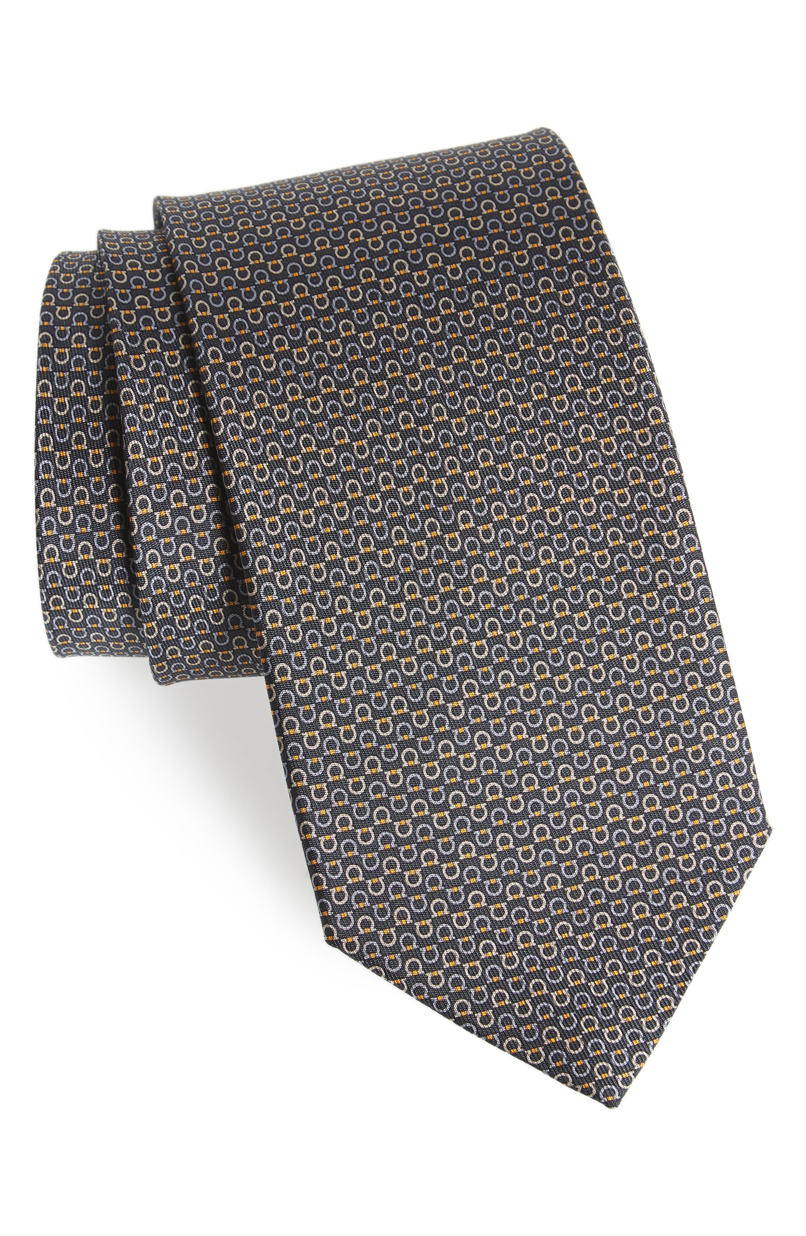 Elisir Print Silk Tie,                         Main,                         color, 094