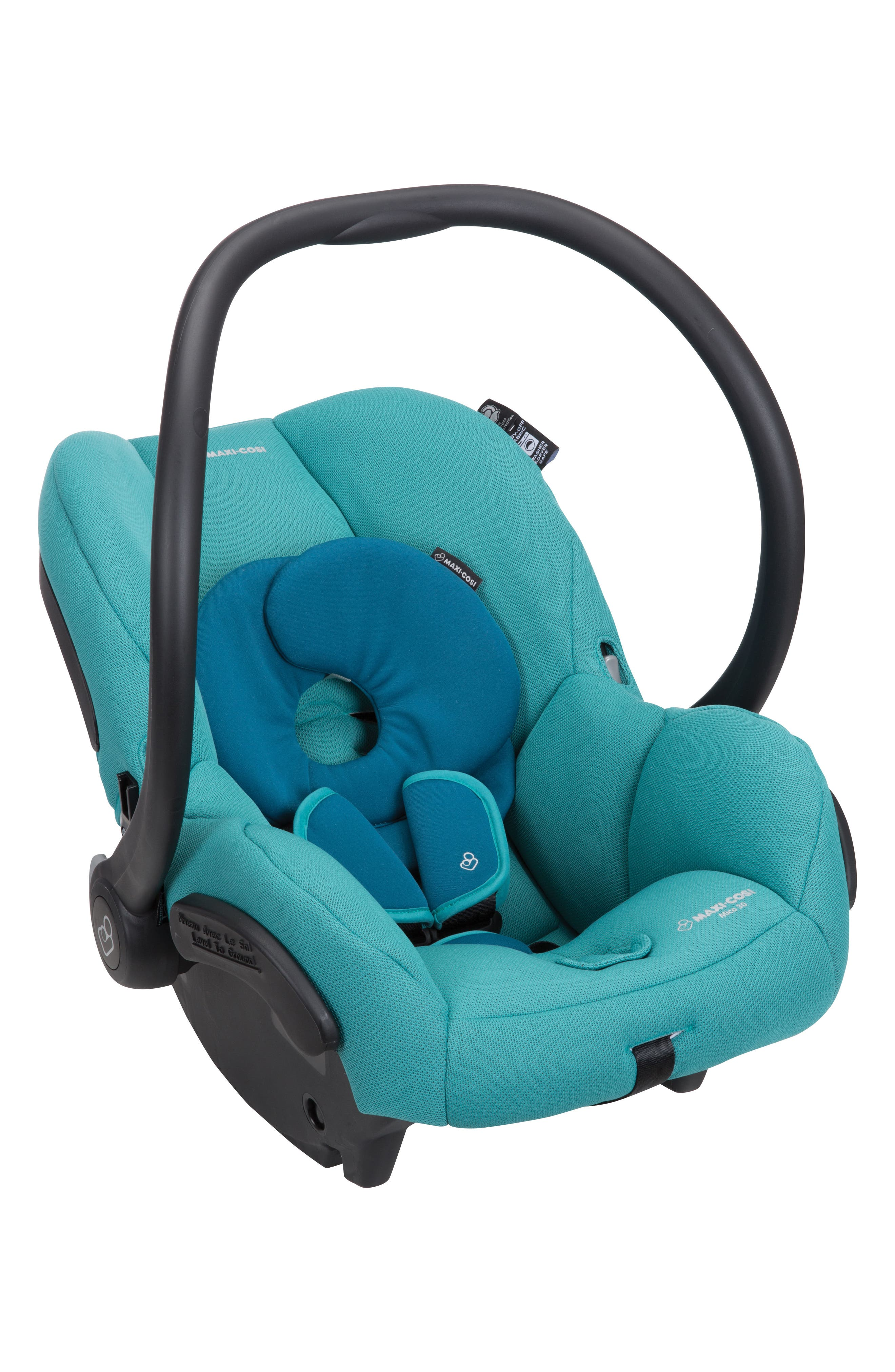 Mico 30 Infant Car Seat,                             Alternate thumbnail 2, color,                             EMERALD TIDE