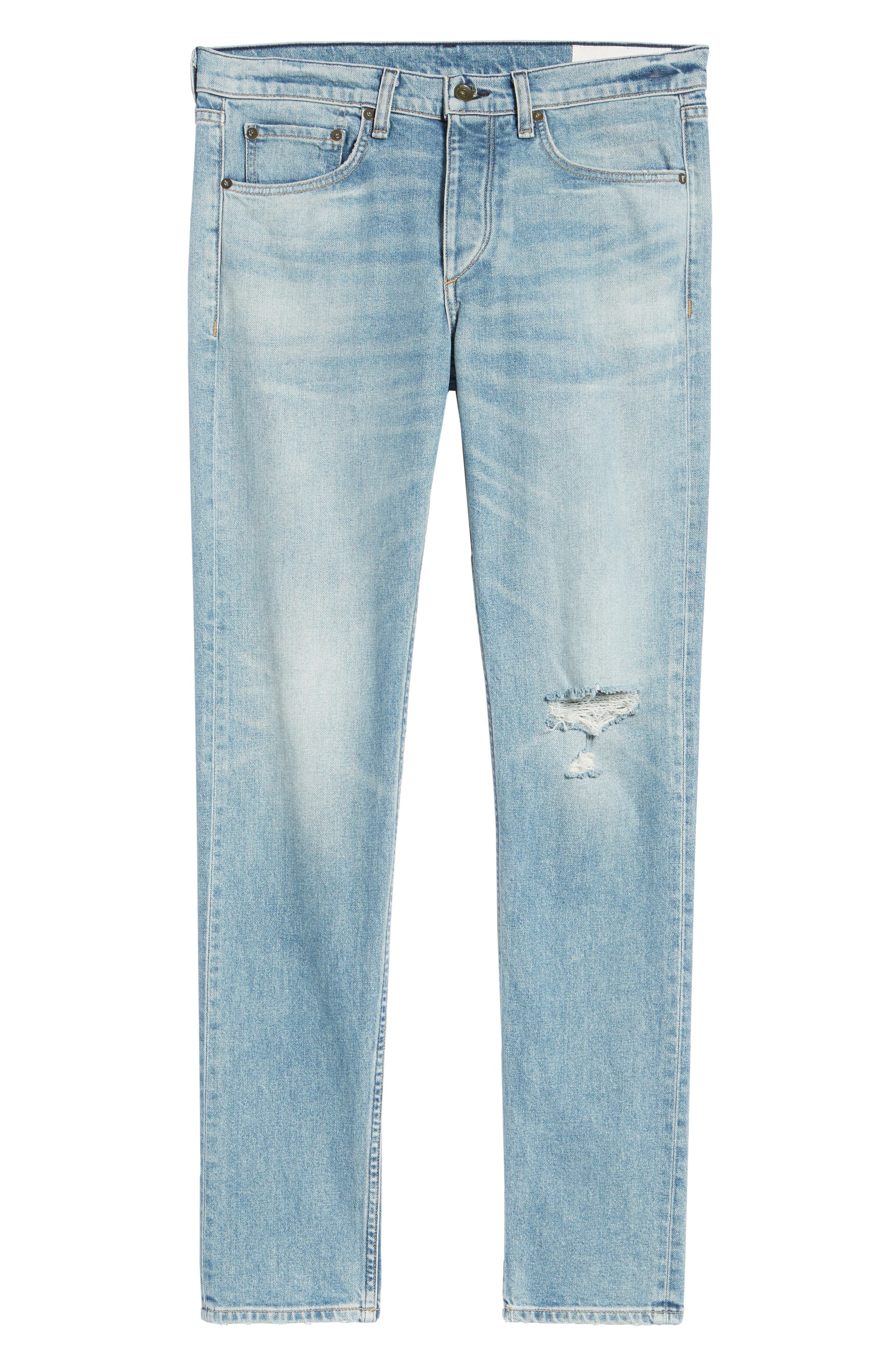 Fit 2 Slim Fit Jeans,                             Alternate thumbnail 6, color,                             JAMIE WITH HOLES