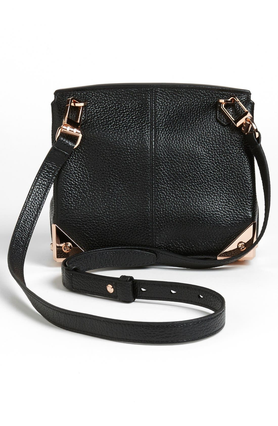 ALEXANDER WANG,                             'Marion - Prisma' Leather Crossbody Bag,                             Alternate thumbnail 2, color,                             001
