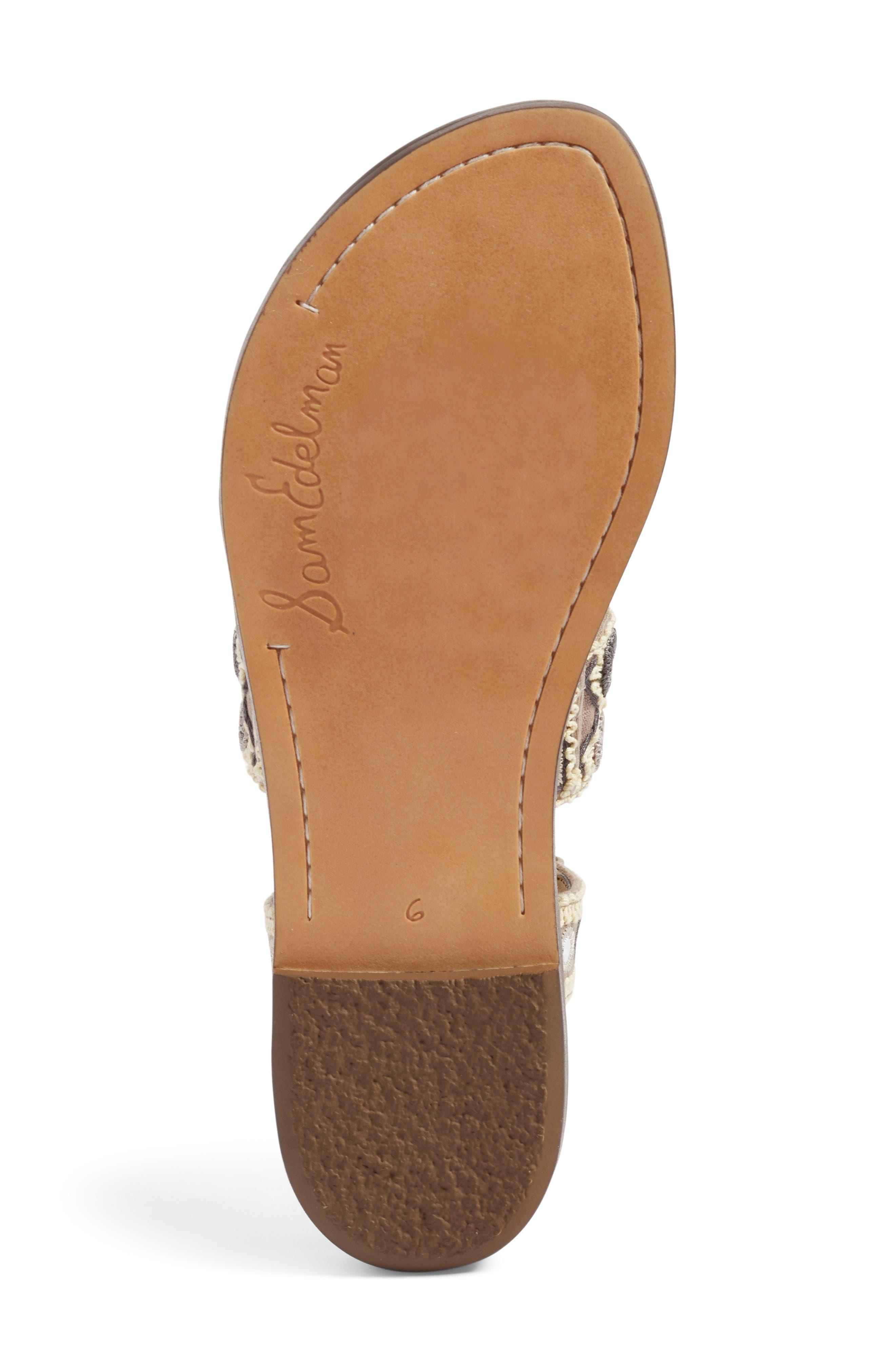 Gretchen Gladiator Sandal,                             Alternate thumbnail 4, color,                             020