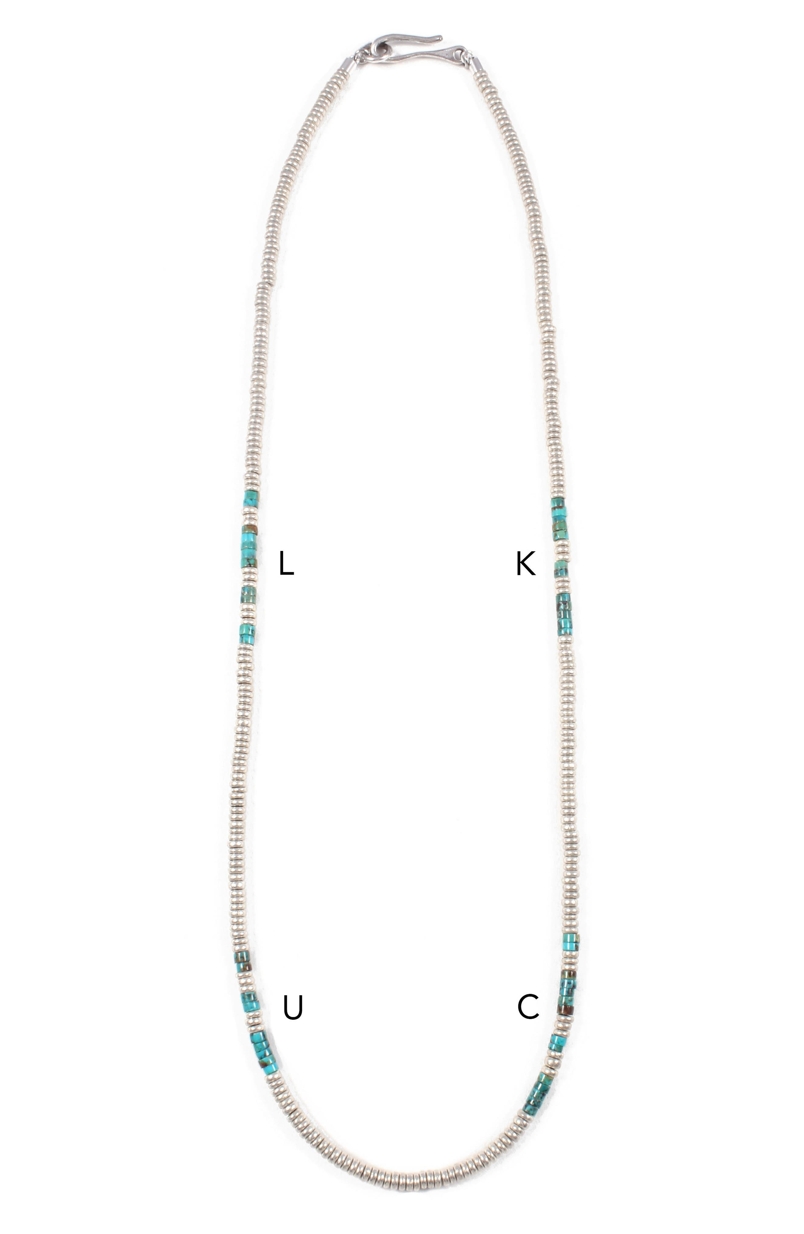 Luck Morse Necklace,                             Alternate thumbnail 2, color,                             450