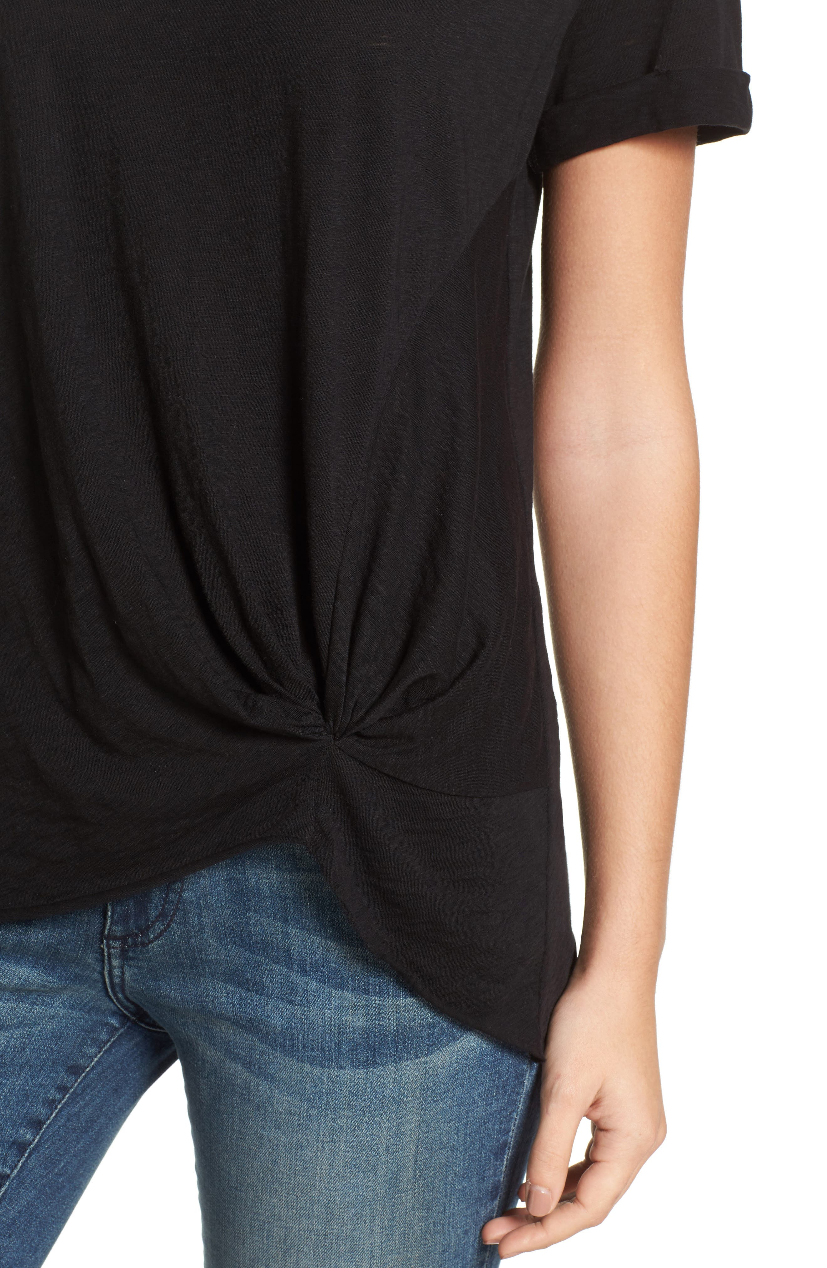 Knotted Tee,                             Alternate thumbnail 38, color,