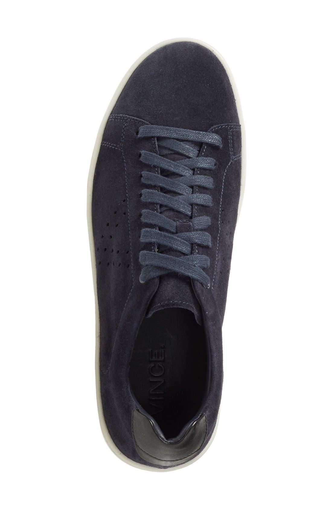 'Simon' Perforated Sneaker,                             Alternate thumbnail 2, color,                             407