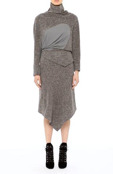Galaxy Tweed Asymmetrical Skirt, video thumbnail