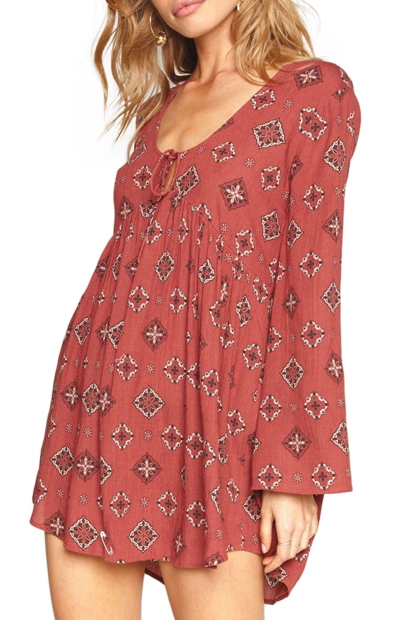 Aden Swing Dress,                         Main,                         color, 621