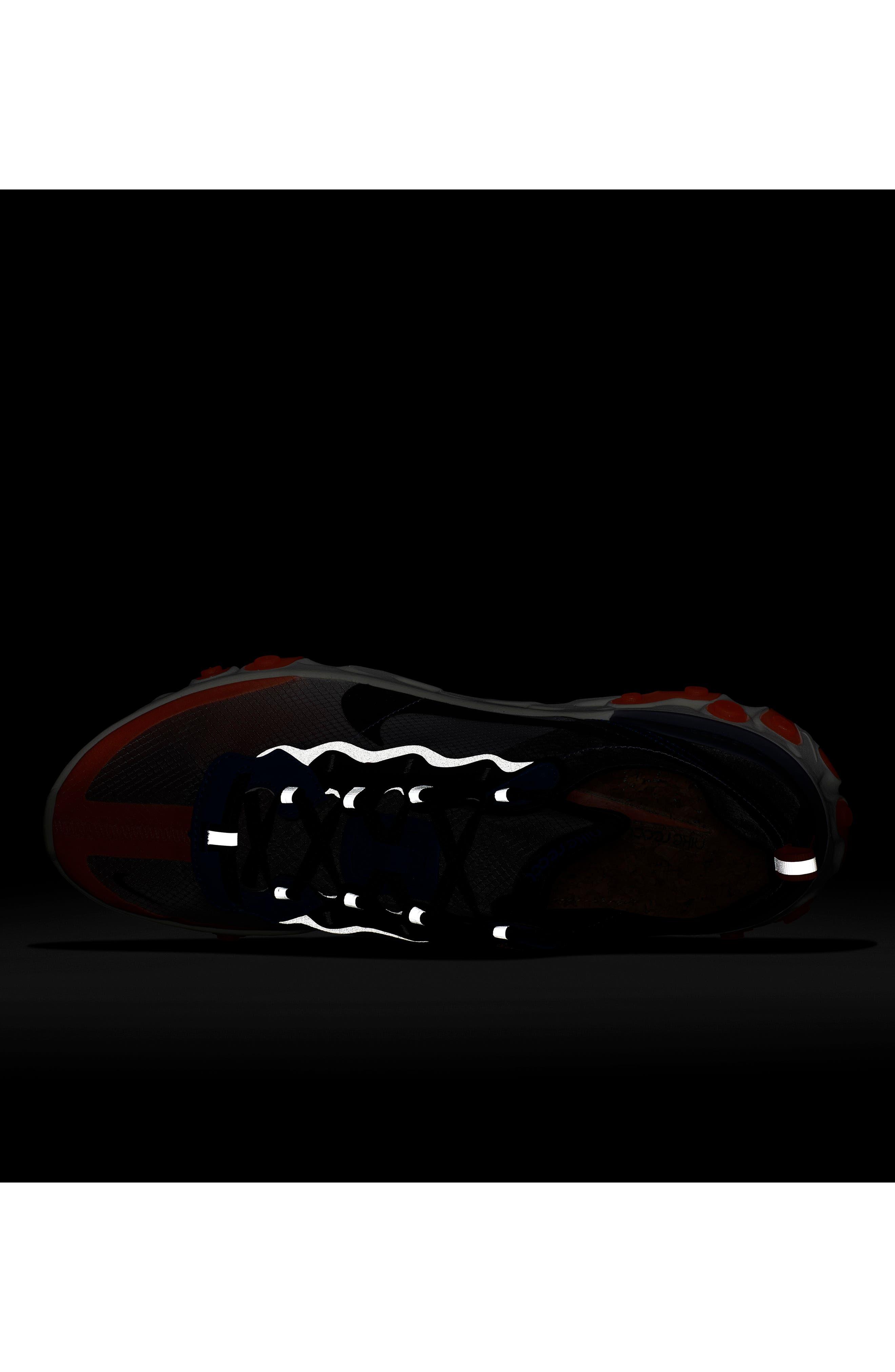 React Element 87 Sneaker,                             Alternate thumbnail 6, color,                             021