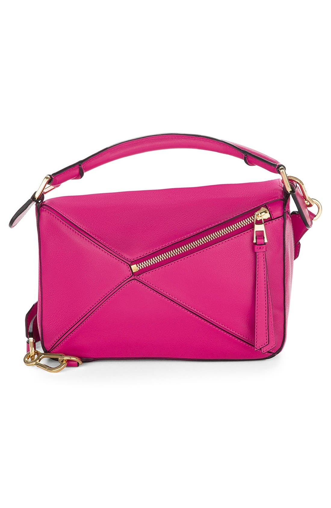 'Small Puzzle' Calfskin Leather Bag,                             Alternate thumbnail 27, color,
