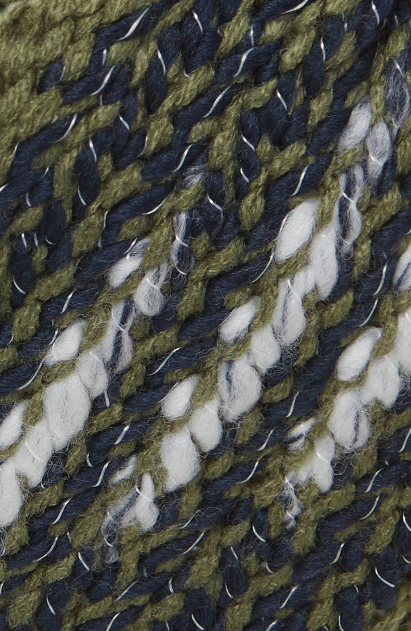 Kaylinda Headwrap,                             Alternate thumbnail 2, color,                             FOUR LEAF CLOVER/ URBAN NAVY