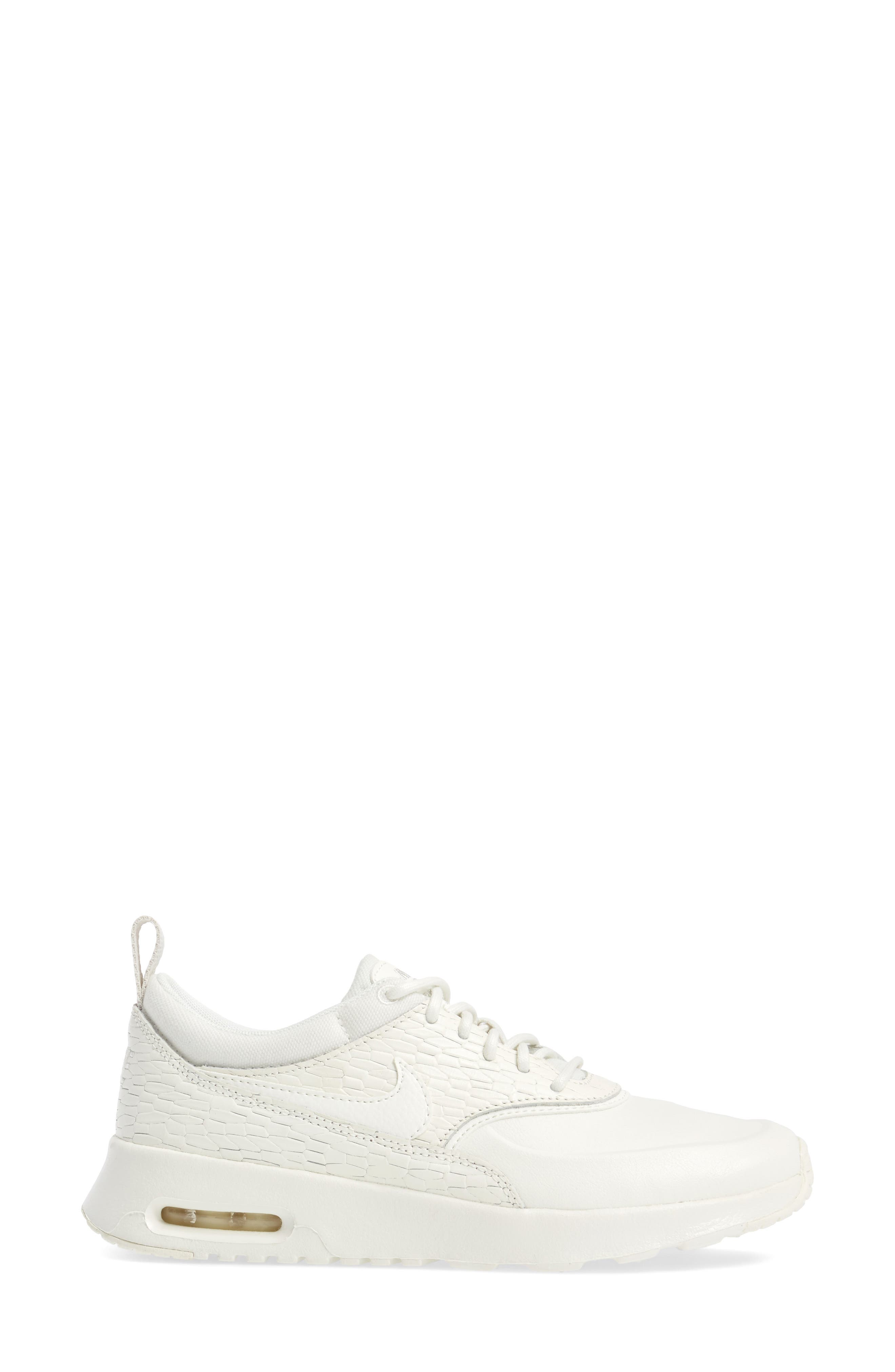 Air Max Thea Premium Sneaker,                             Alternate thumbnail 9, color,