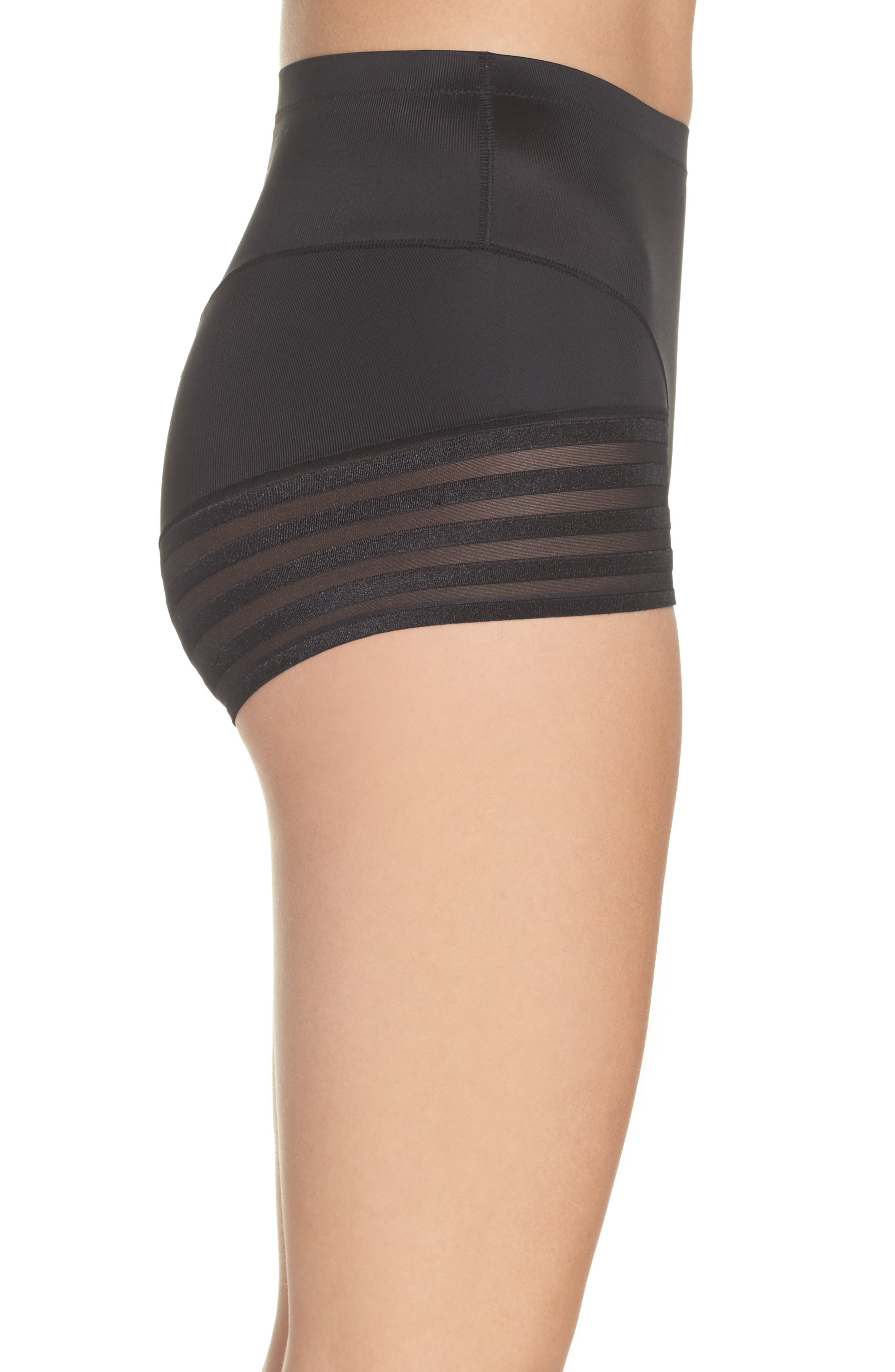 Tummy Squeezer Shaping Briefs,                             Alternate thumbnail 3, color,                             001