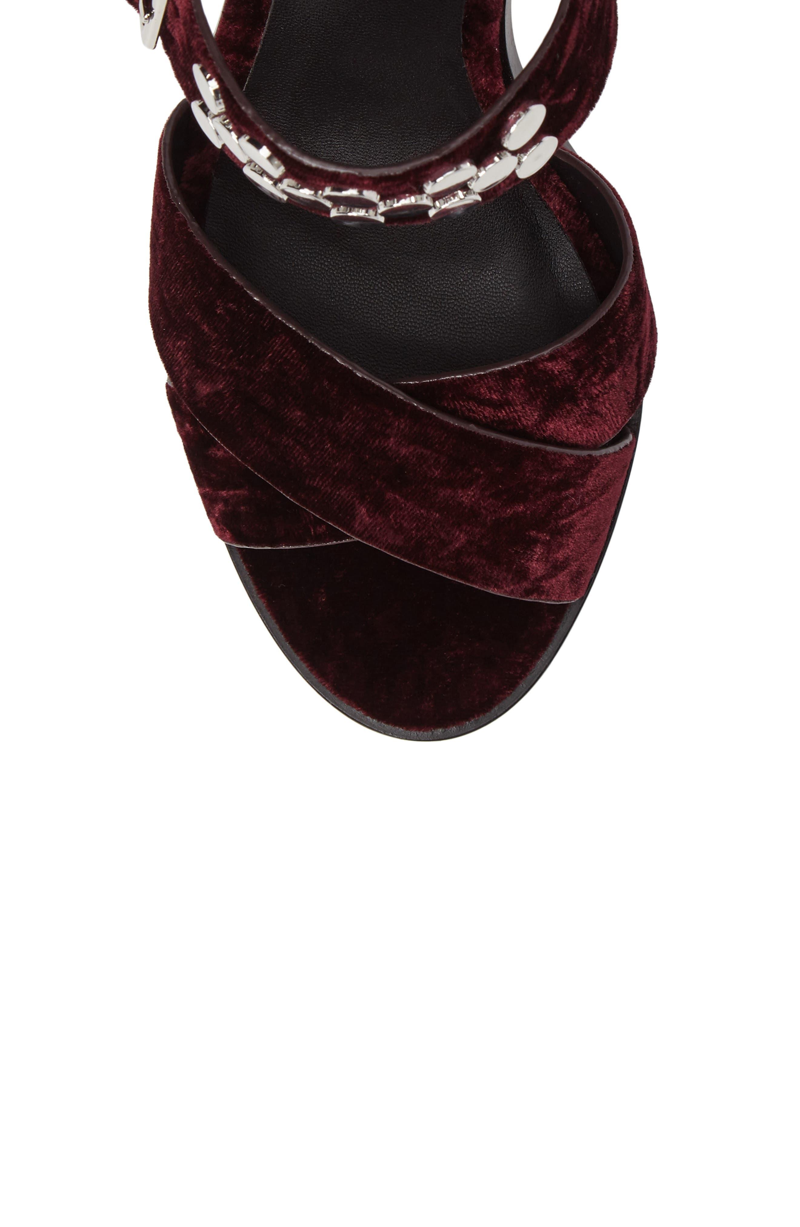 Jennifer Studded Ankle Cuff Sandal,                             Alternate thumbnail 15, color,