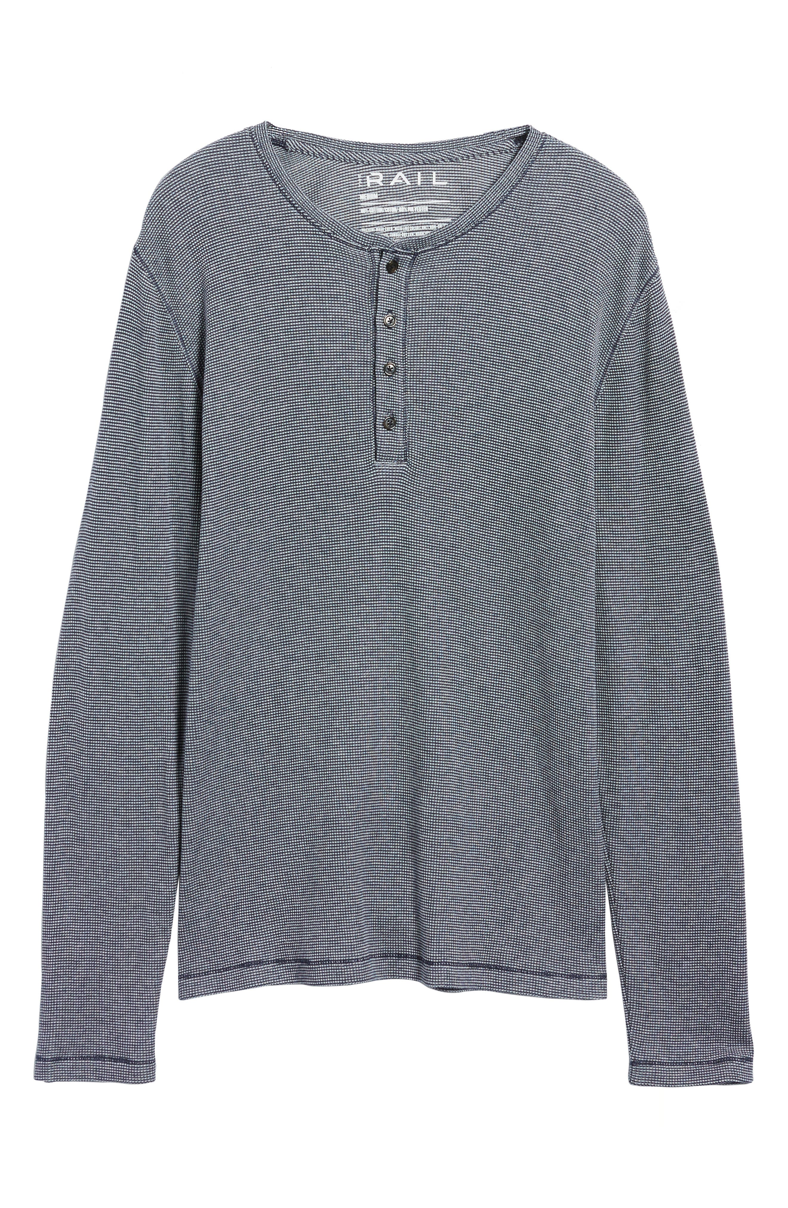 Waffle Knit Henley,                             Alternate thumbnail 11, color,