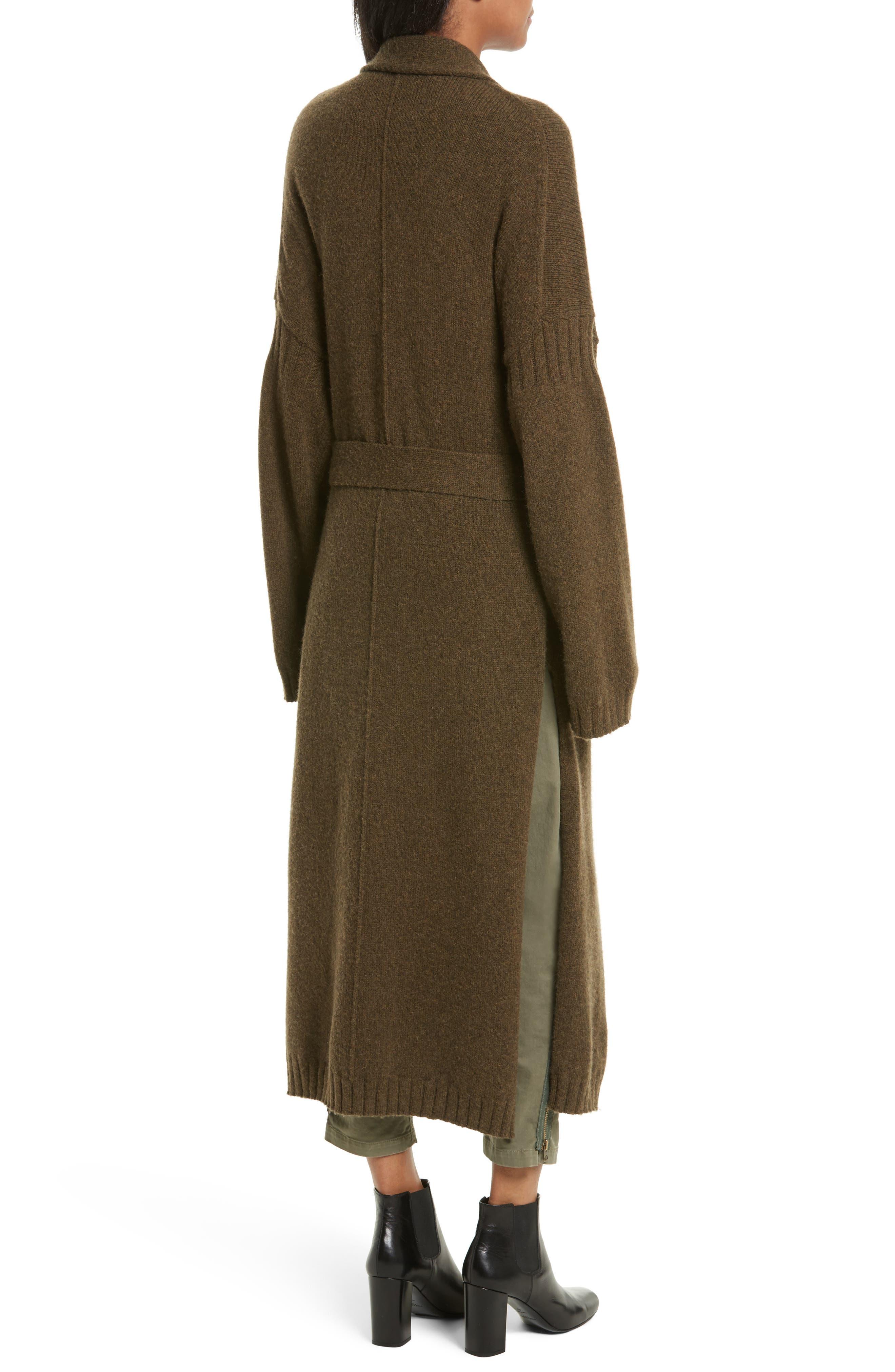 Kinsley Merino Wool Blend Cardigan,                             Alternate thumbnail 2, color,                             310