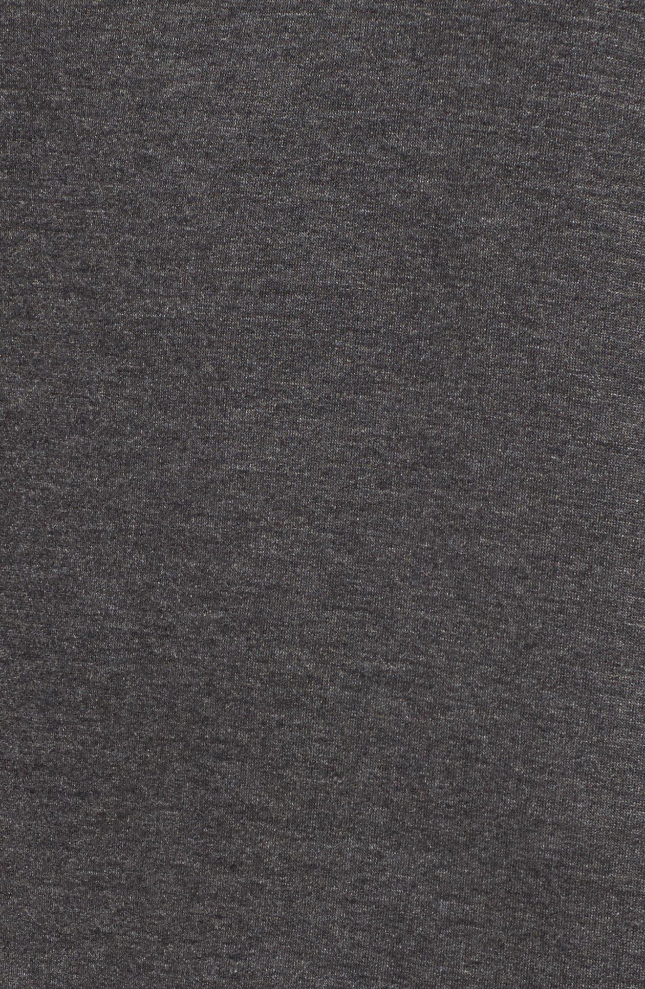 Drop Waist Sweatshirt Dress,                             Alternate thumbnail 5, color,                             020