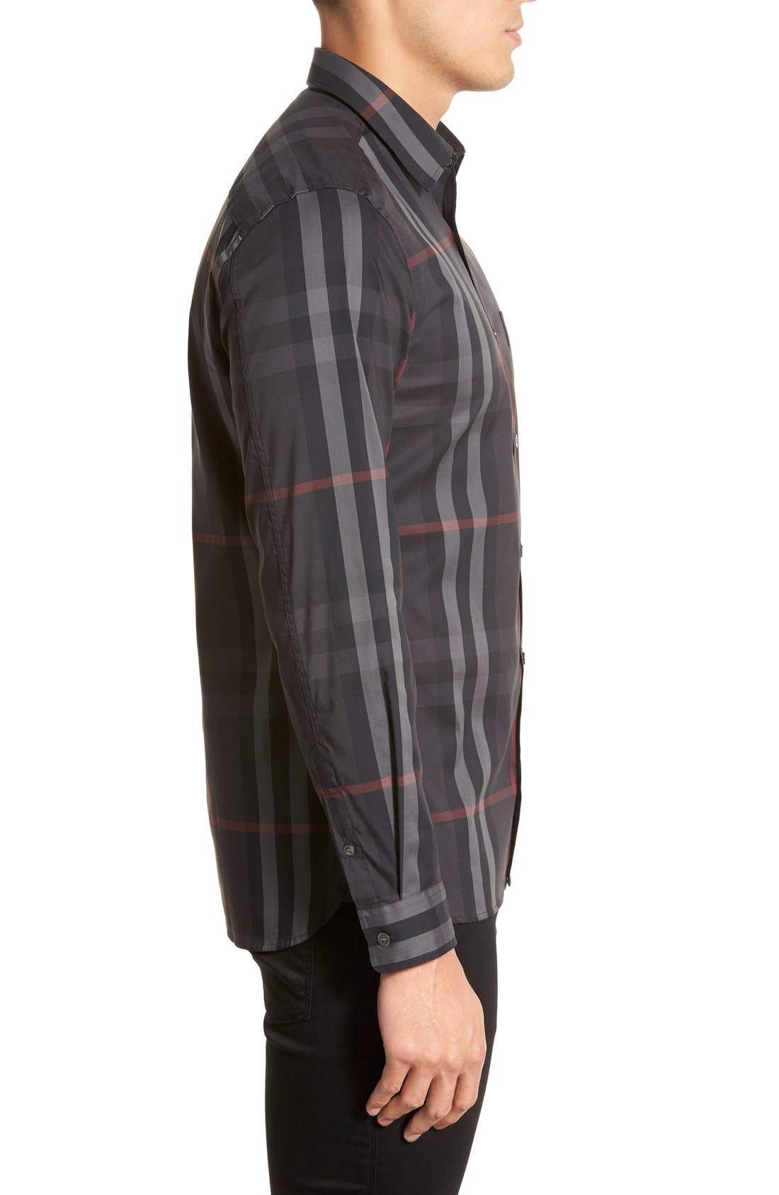 Nelson Check Sport Shirt,                             Alternate thumbnail 78, color,