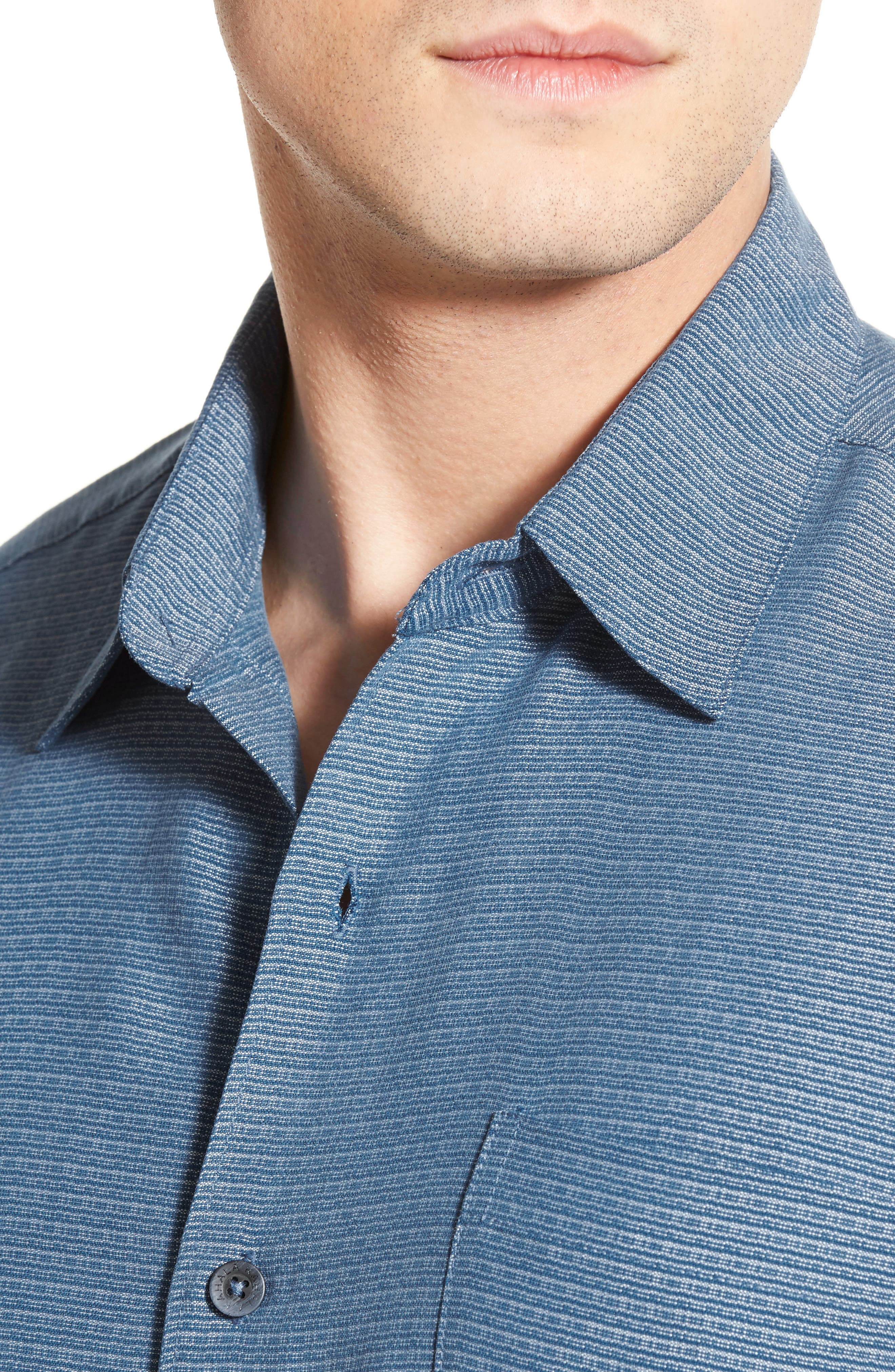 'Wind N Sea' Regular Fit Sport Shirt,                             Alternate thumbnail 23, color,